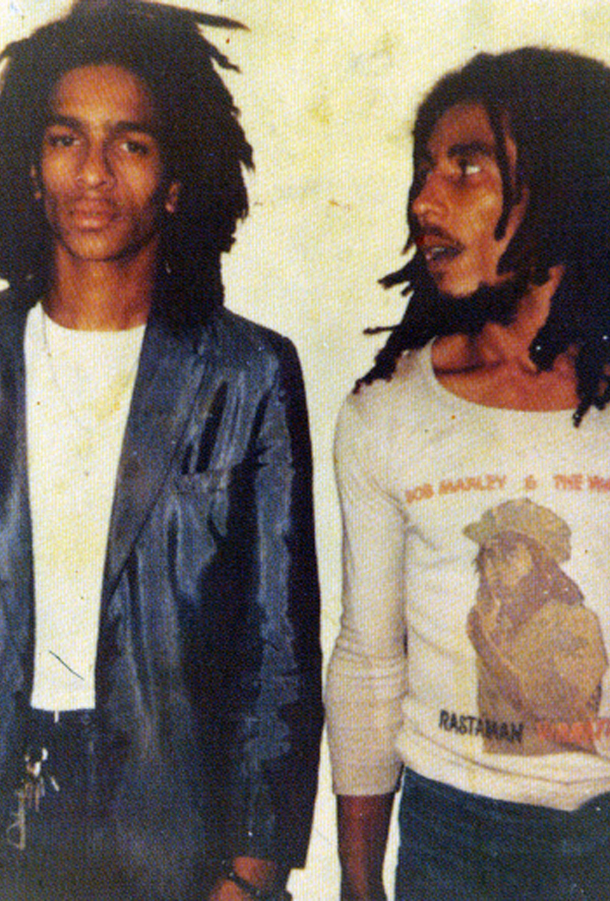 Don Letts and Bob Marley.