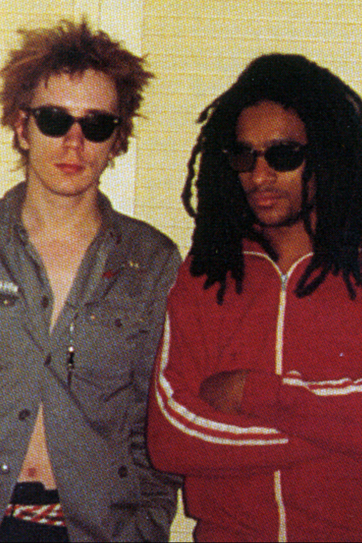 John Lydon and Don Letts.