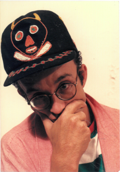 Keith Haring in Devil Clayton Cap