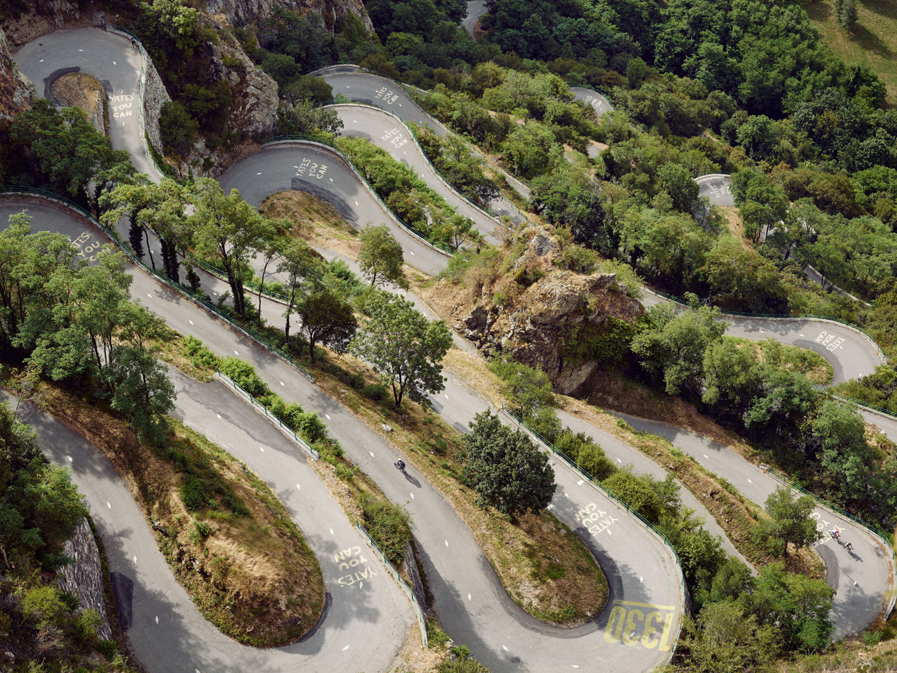 Lacets de Montvernier: sometimes described as an Alpine Scalextric, the climb has eighteen hairpins that switch back every 150m