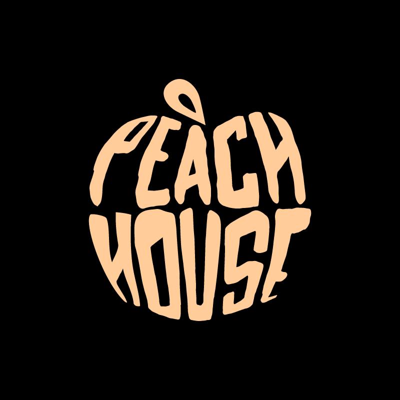 PeachHouseLogo_SQ BG_Bp