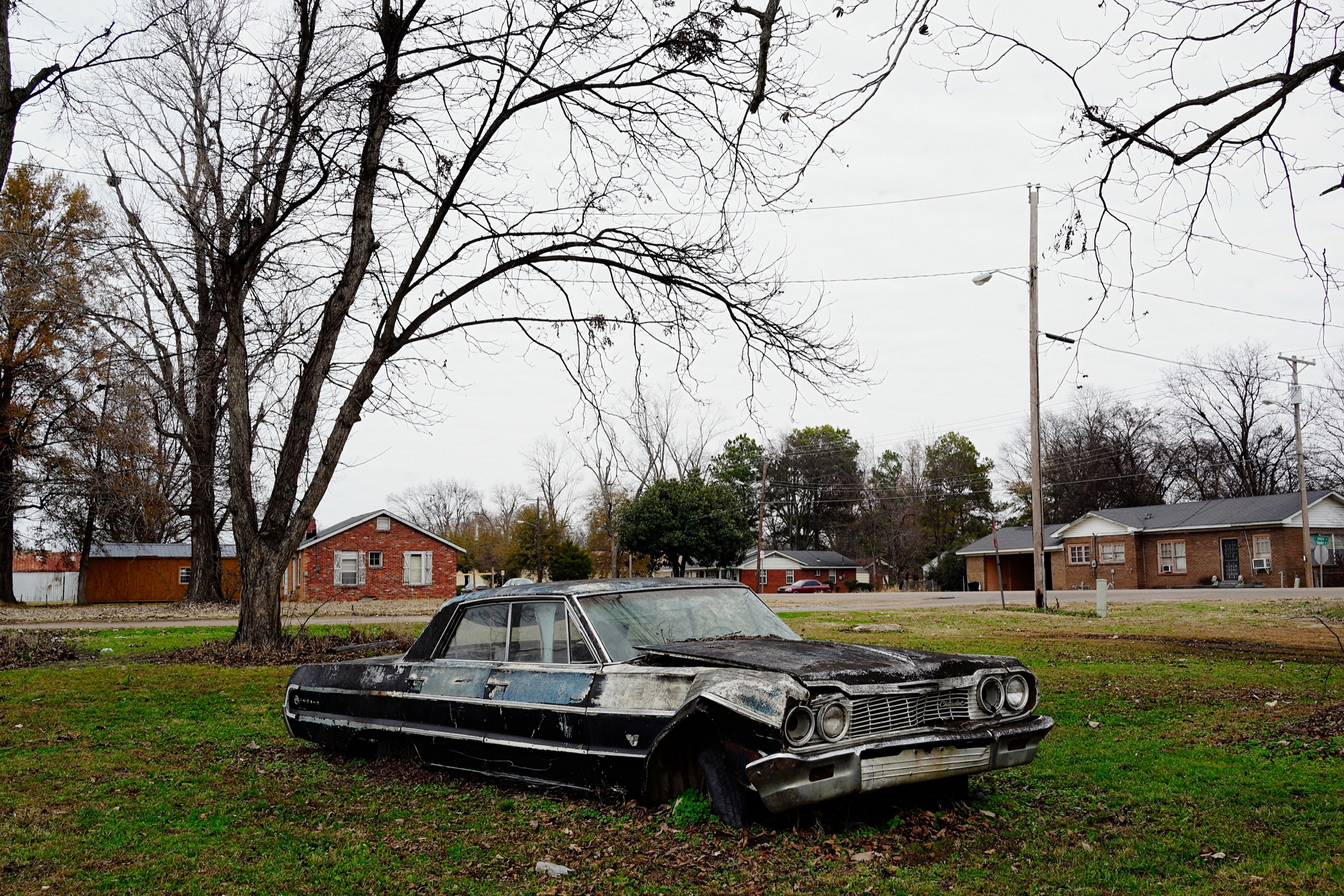 A moment of stillness shot while on assignment in Mound Bayou, Mississippi: the first all-black town in the US.