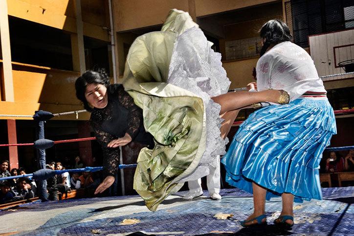 Flying Cholitas, Bolivia
