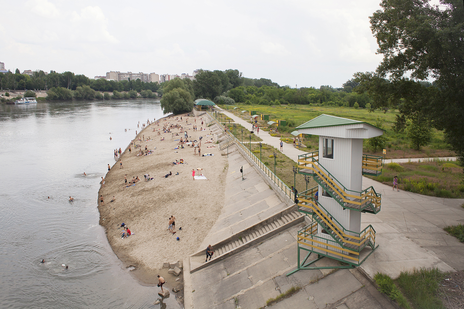 City Beach in Tiraspol