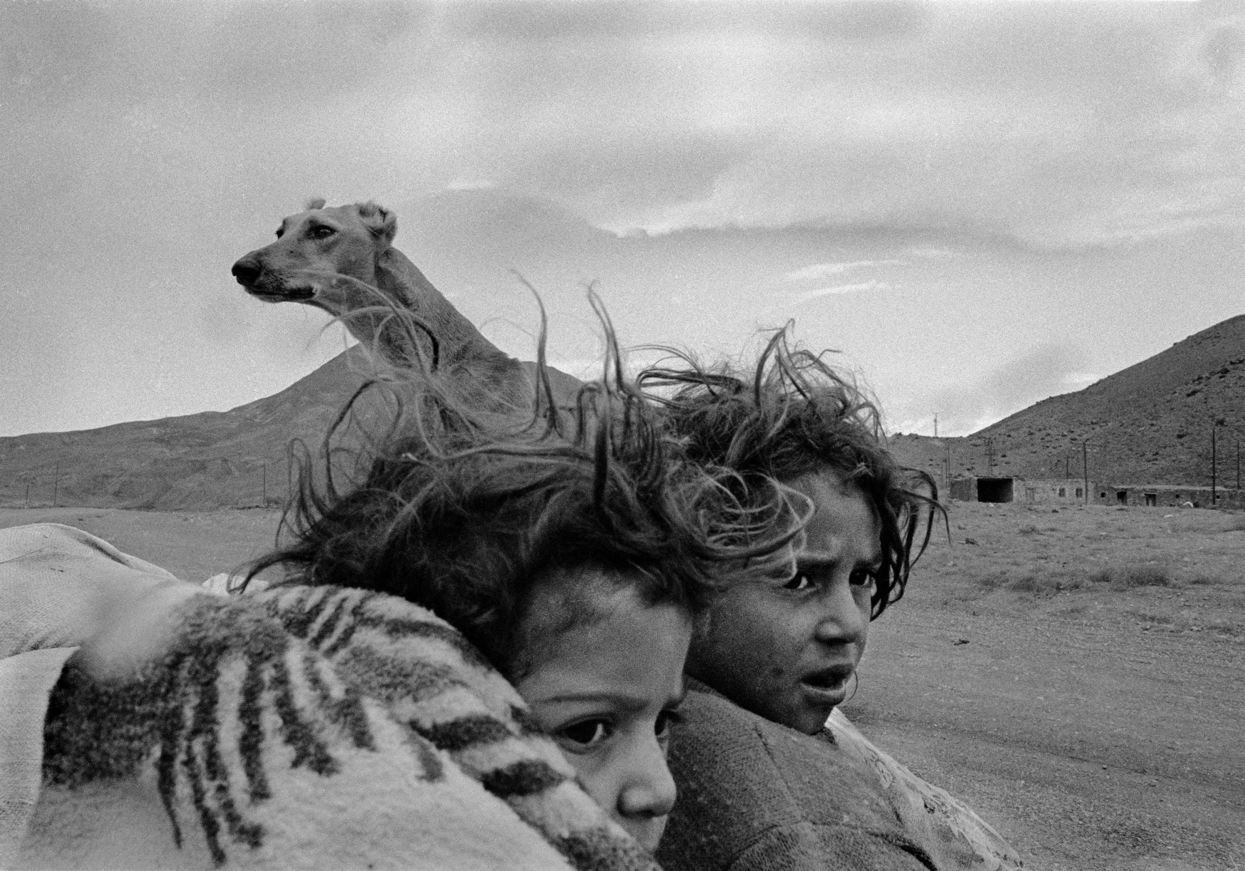 Nomads. Village in Kars, Turkey. 1990.