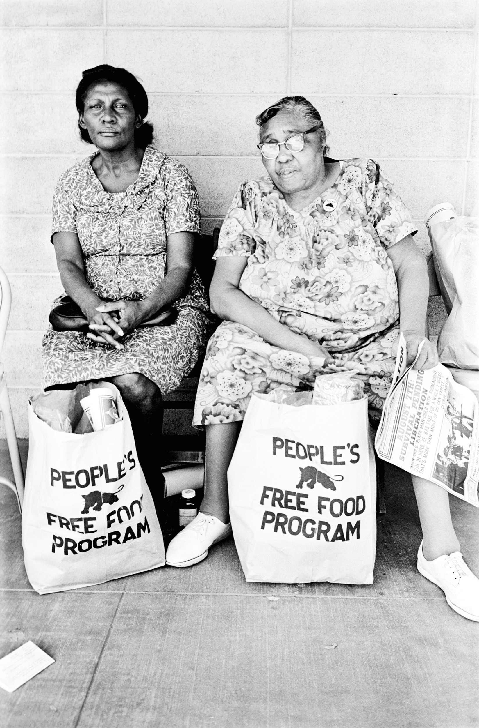 People's Free Food Program, Palo Alto, 1972