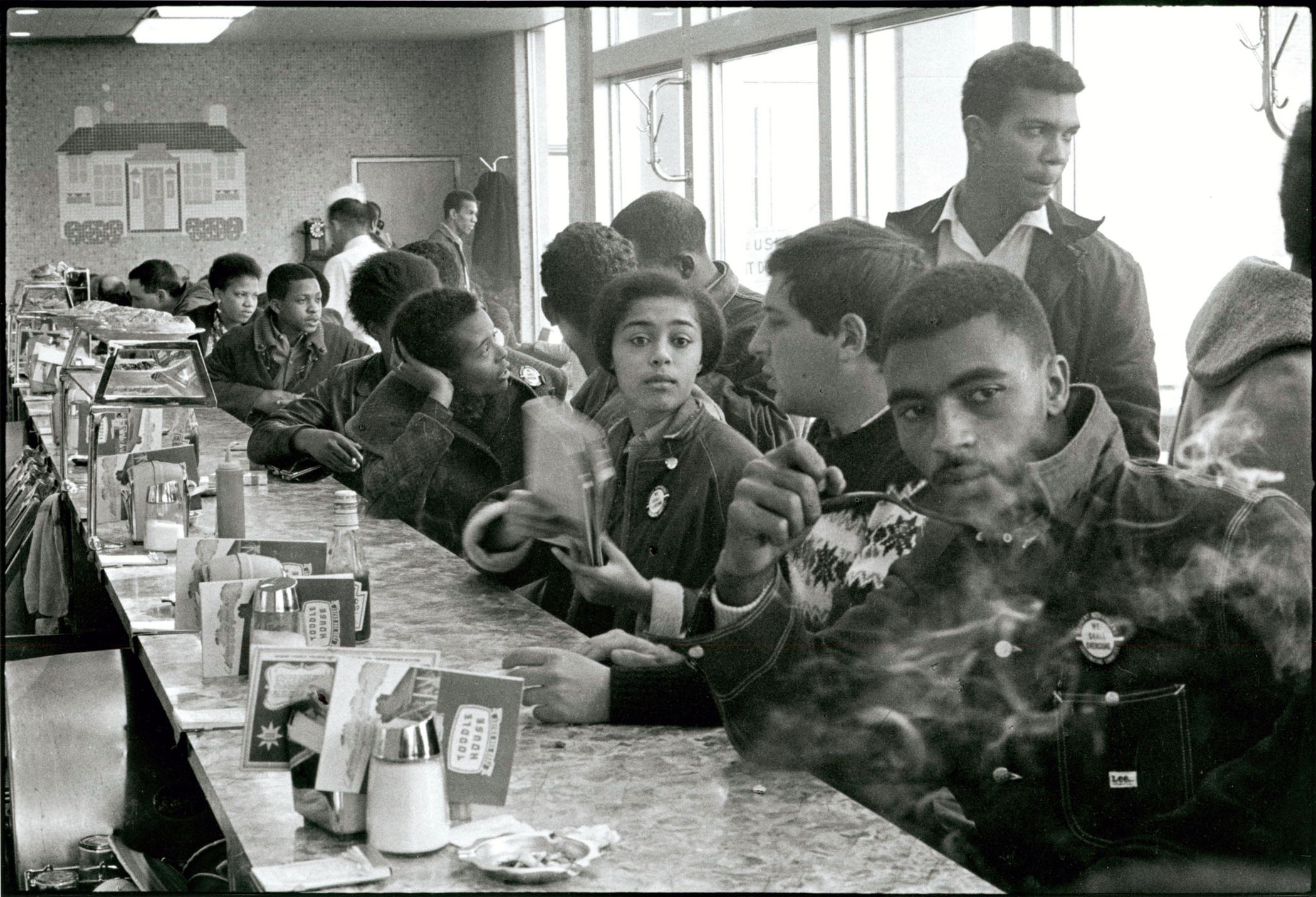 SNCC Staff Sin-In, Atlanta, Georgia, 1963