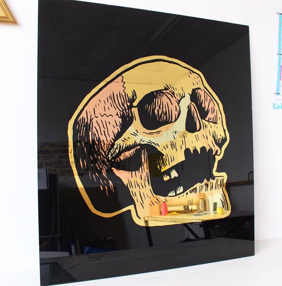 Alex May Hughes Skull