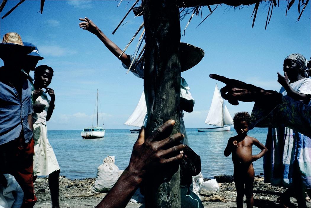 Haiti, 1986.