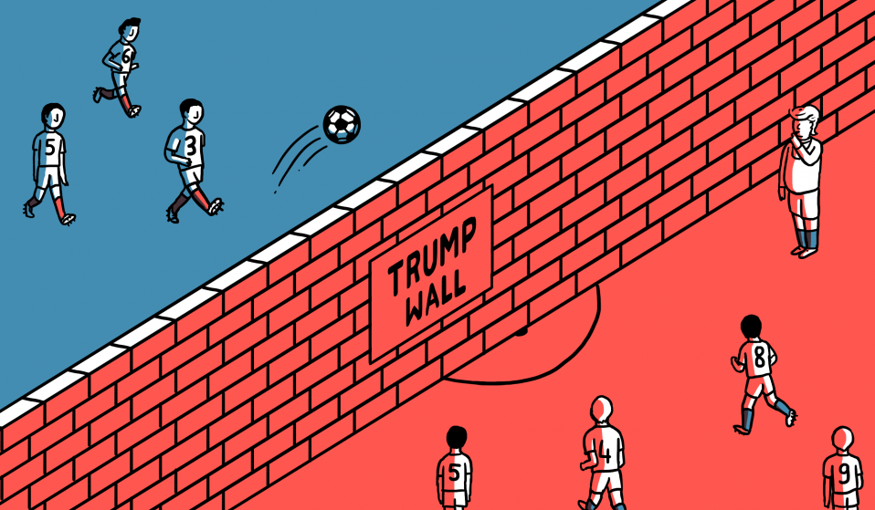 The United States And Mexico Go To War On The Pitch