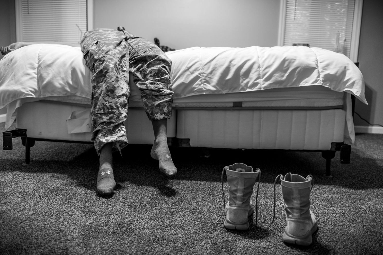 US Army Spc. Natasha Schuette, 21, was sexually assaulted by her drill sergeant during basic training and was subsequently harassed by other drill sergeants after reporting the incident at Fort Jackson, South Carolina. Photo: Mary F. Calvert.