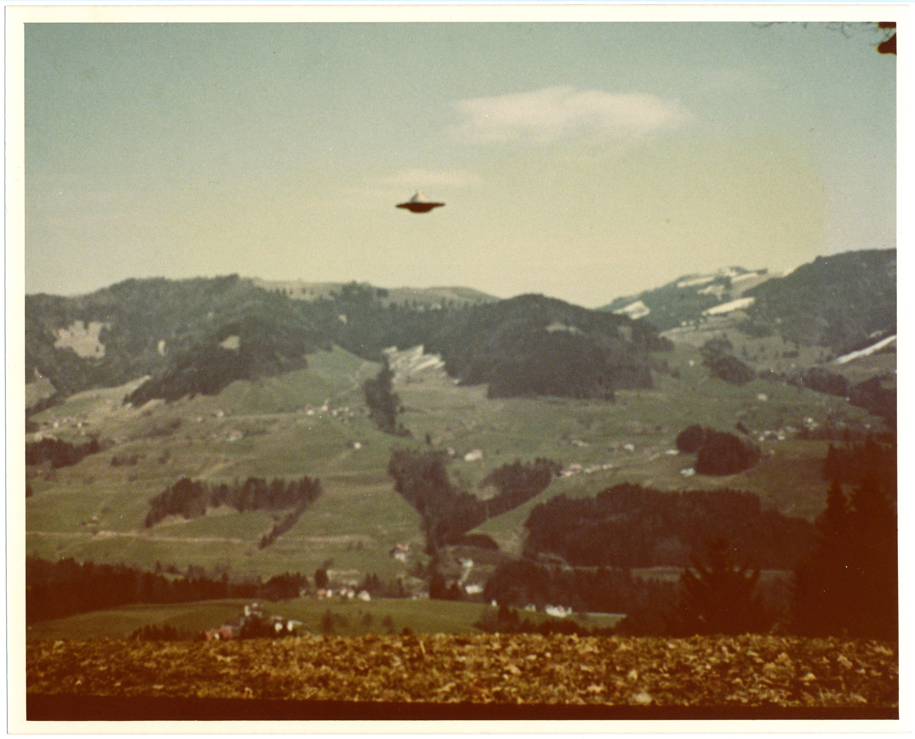 Photograph by Billy Meier From the UFO Photo Archives of Wendelle Stevens Collection of Gordon MacDonald