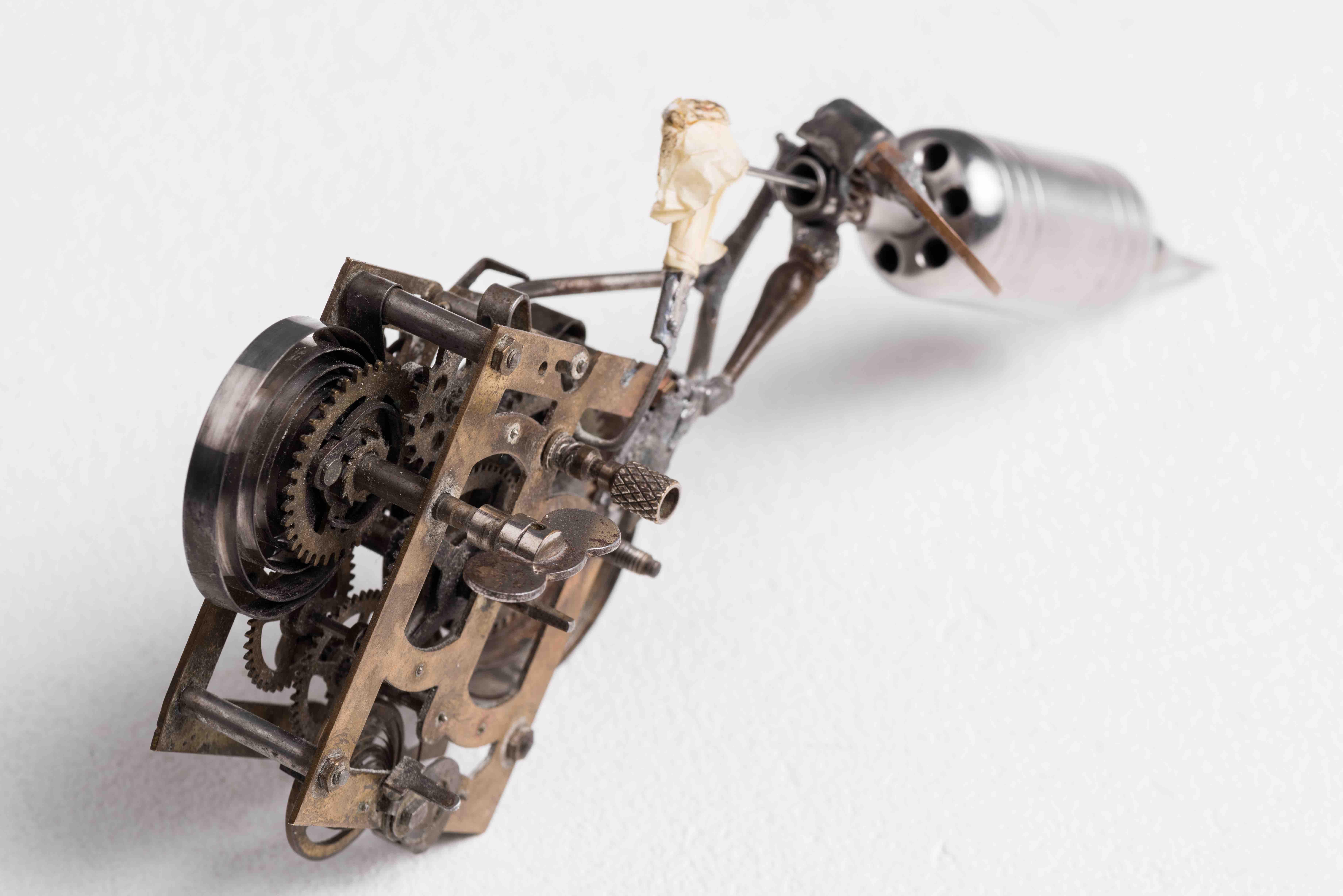 German-Clockwork-Tattoo-Machine -Willy Robinson