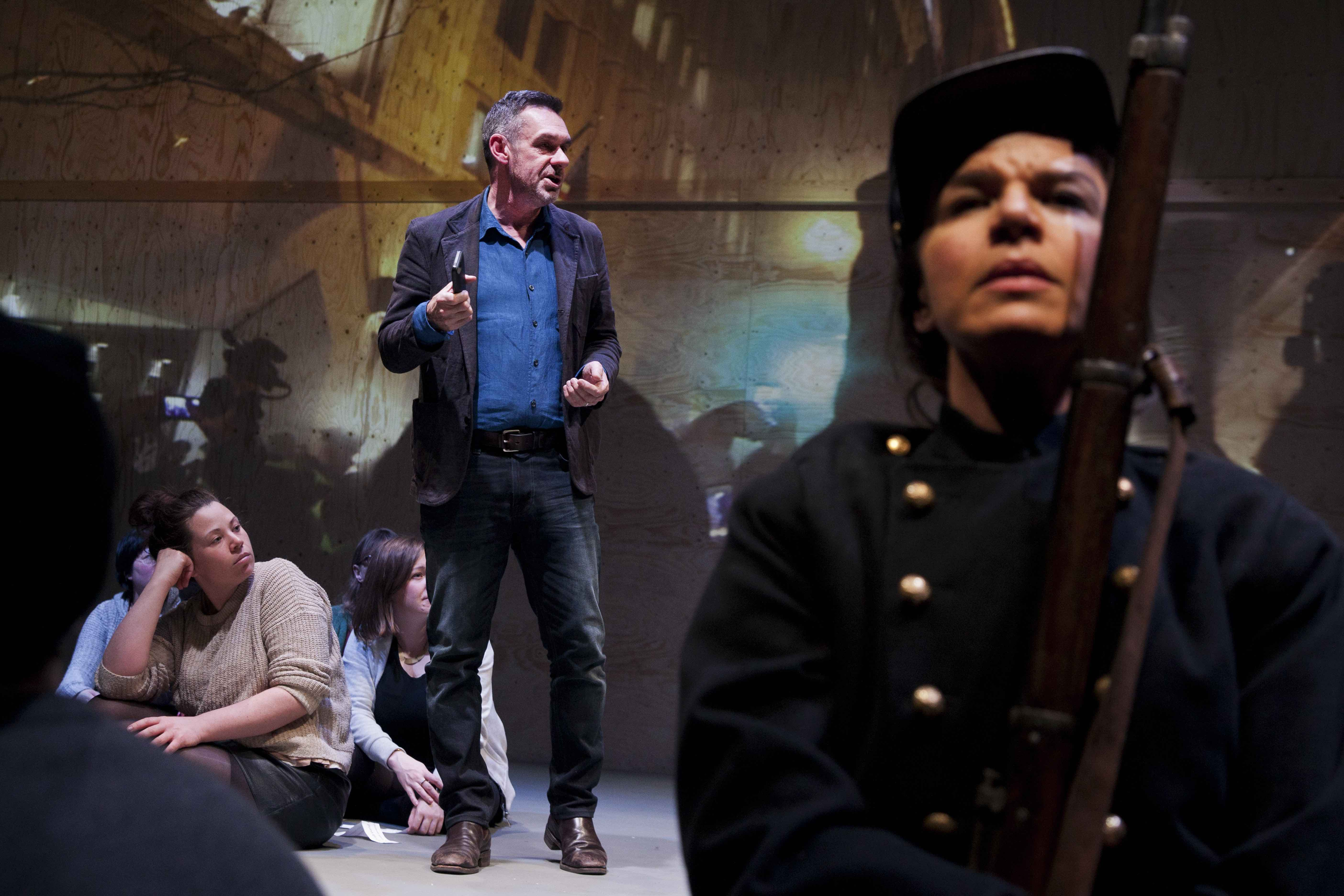Paul Mason and Sirine Saba in Why It's Kicking Off Everywhere at the You...