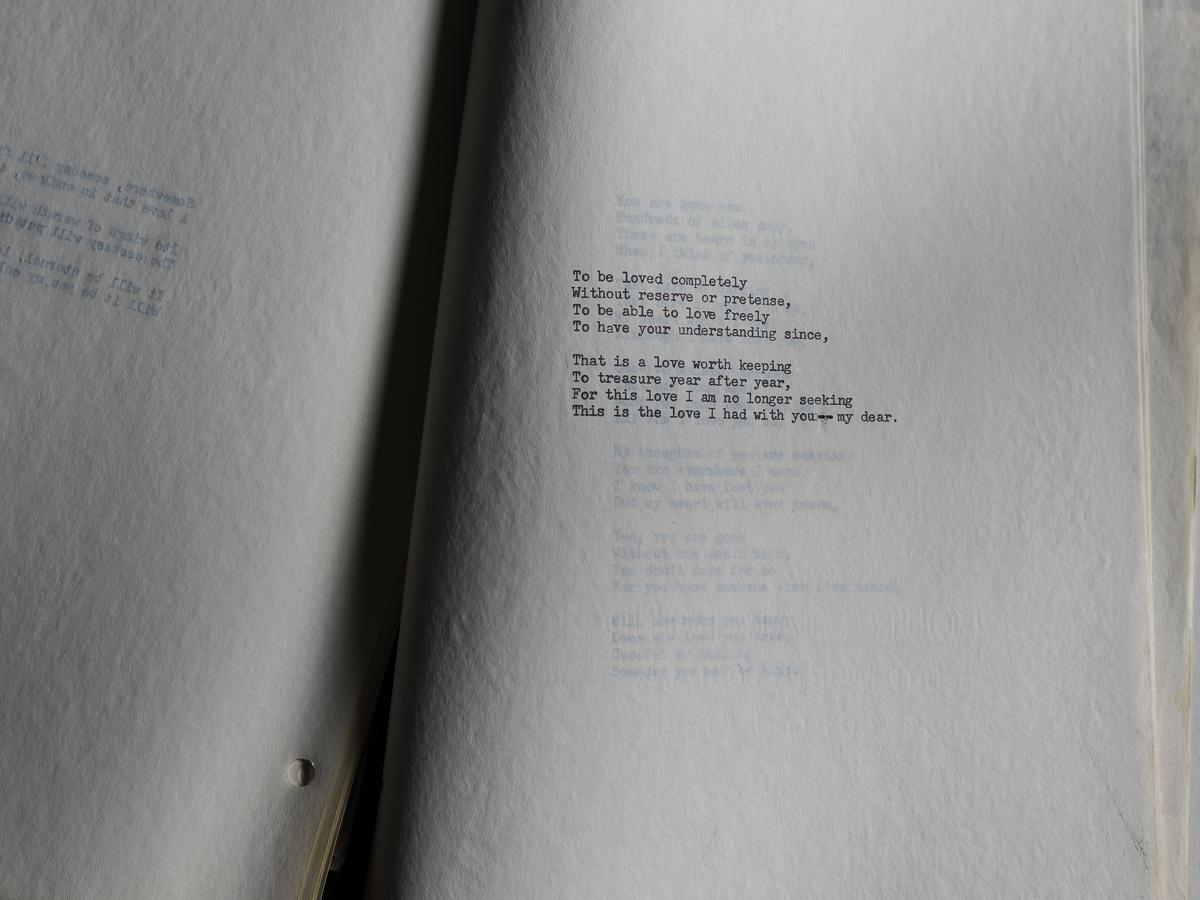 A Widow's Poem
