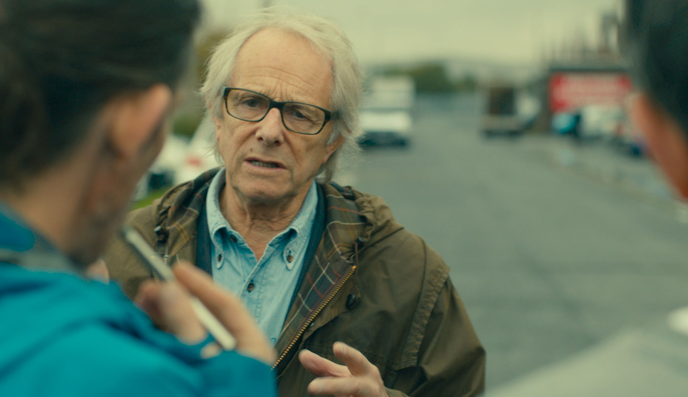 A still from Versus: The Life and Films of Ken Loach (2016) by Louise Osmond.