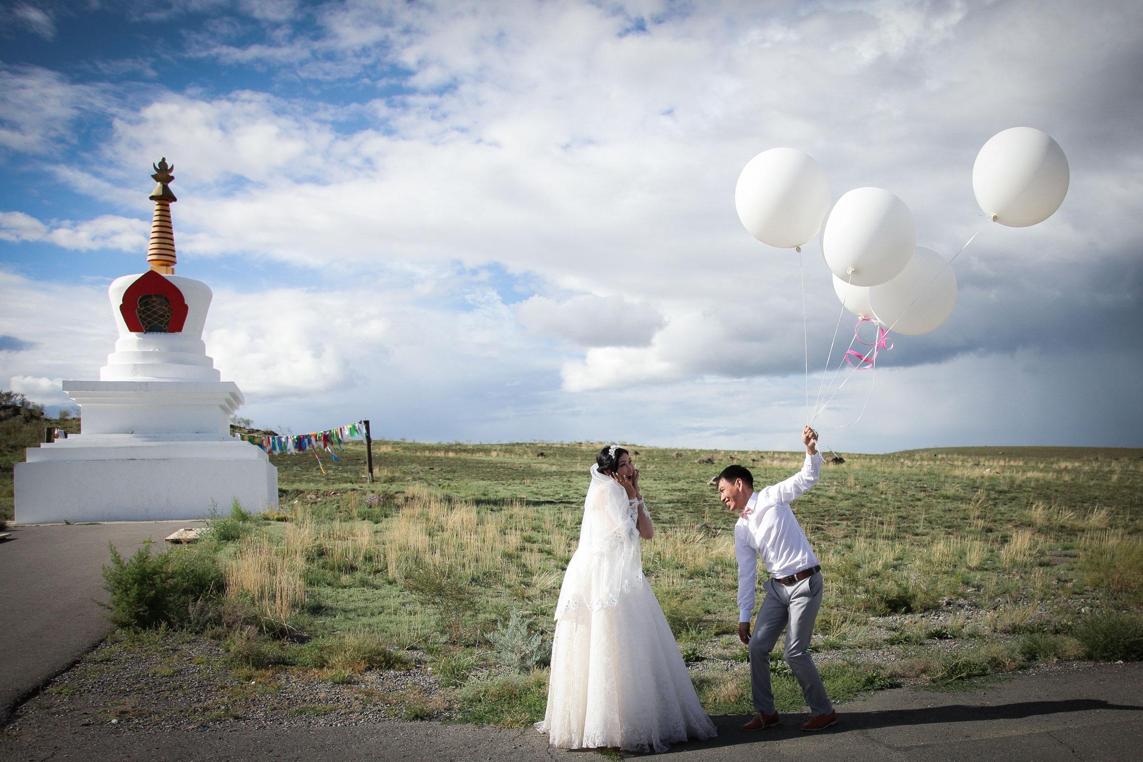 Tuvan wedding, Kyzyl.