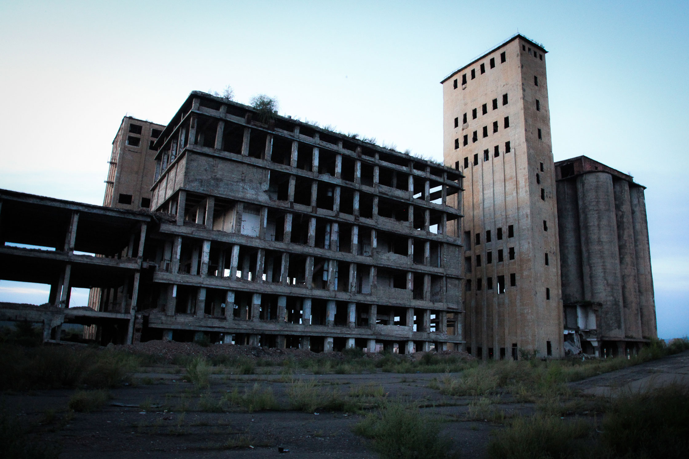 Abandoned Soviet Factory, Tuva.