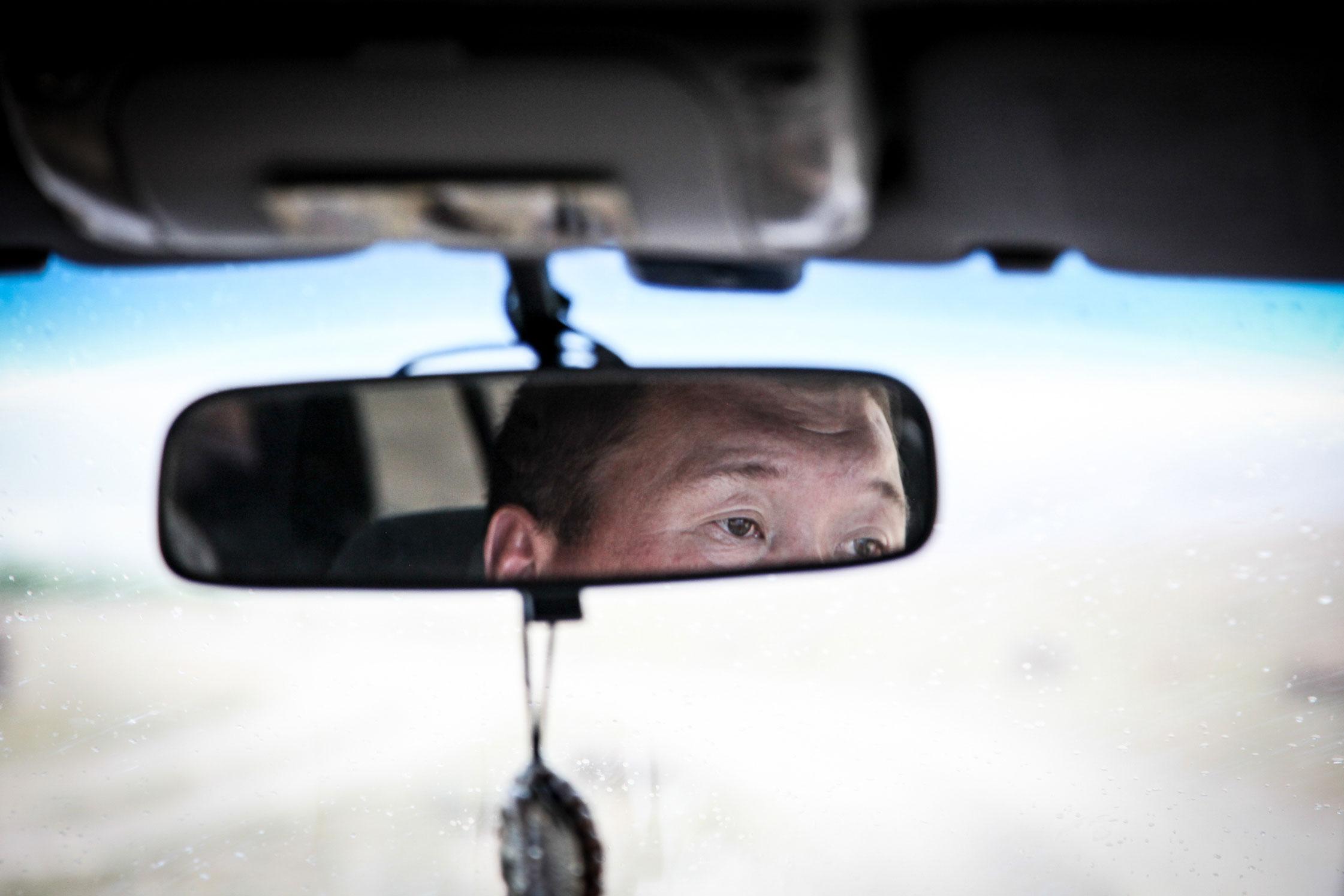 Bus driver, Republic of Altai.