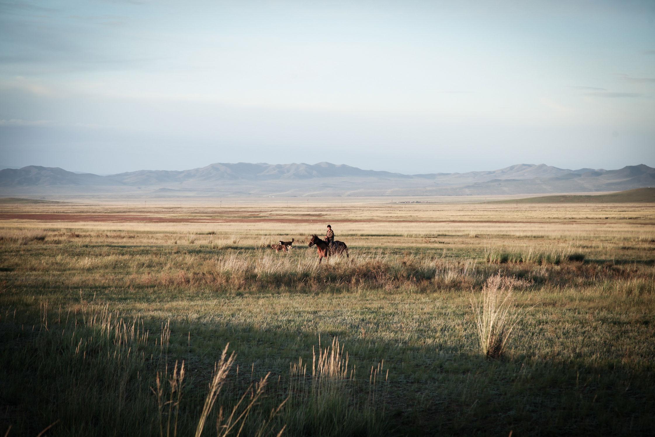 Nomadic Herder, Tuva.