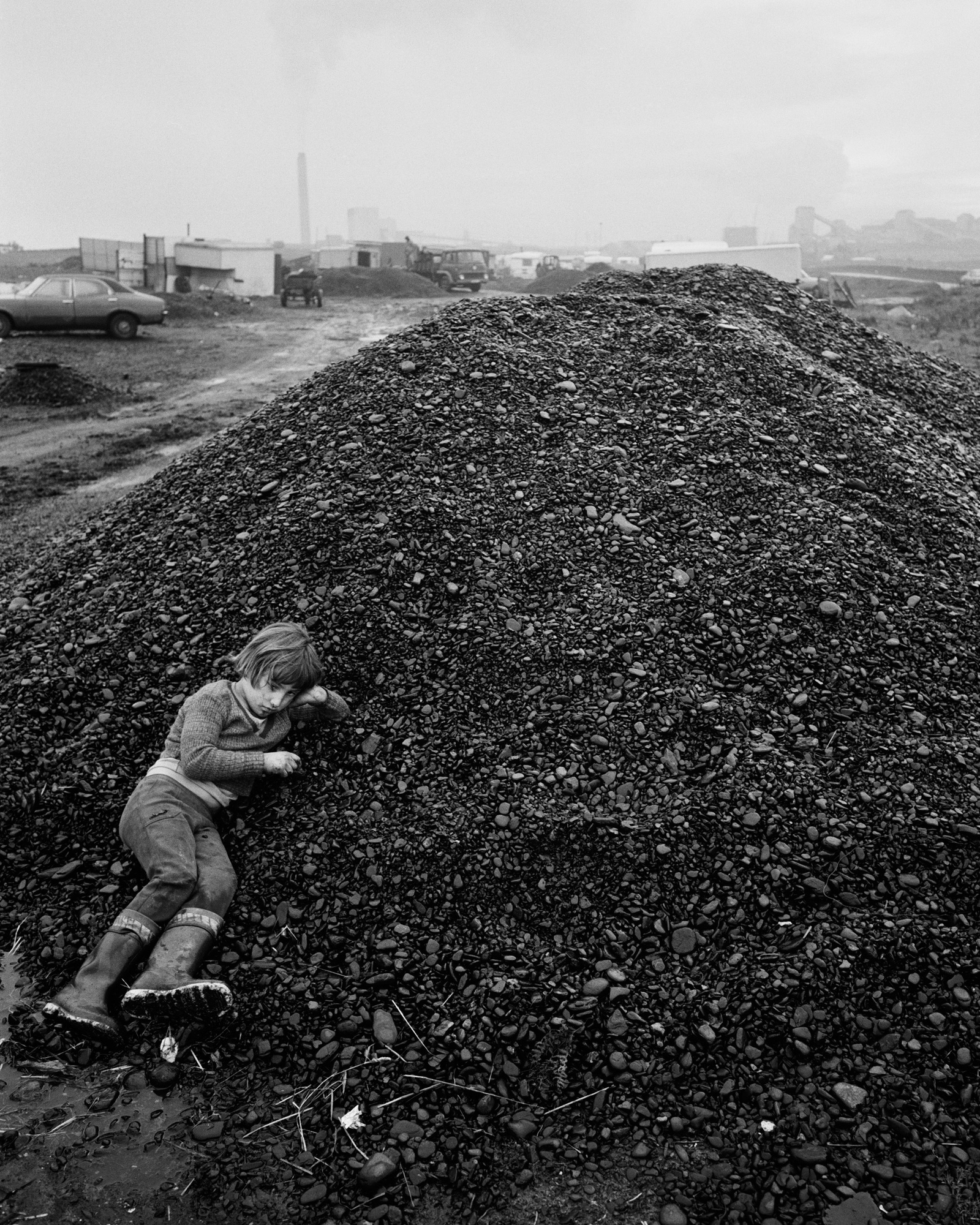 John on the Coal, Seacoal Camp, Lynemouth, Northumberland