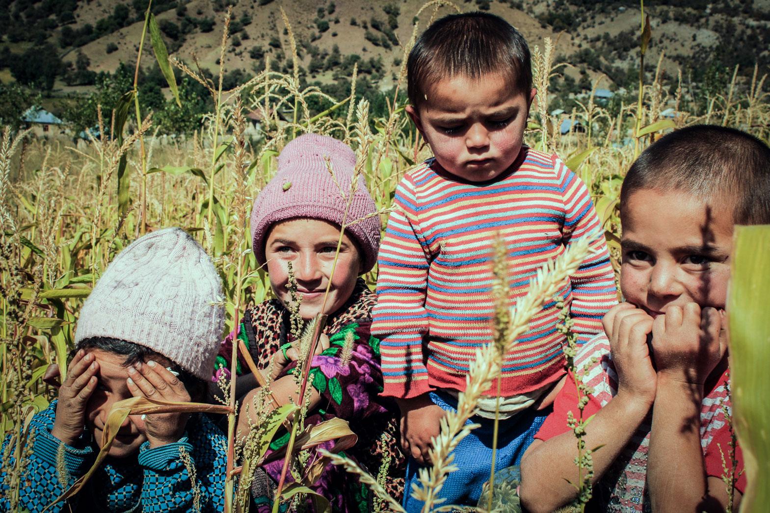 Kids in Arslanbob, Kyrgyzstan.
