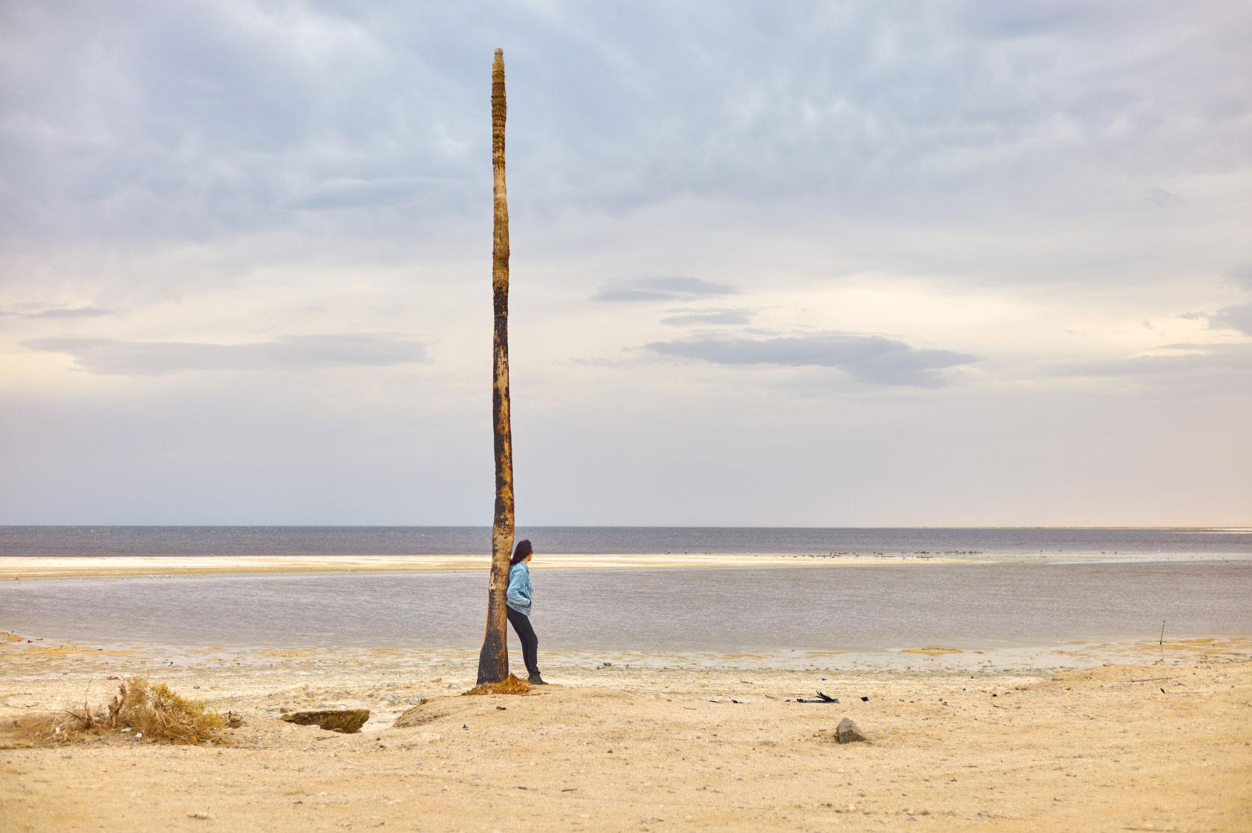 Sarah, Salton Sea Beach.