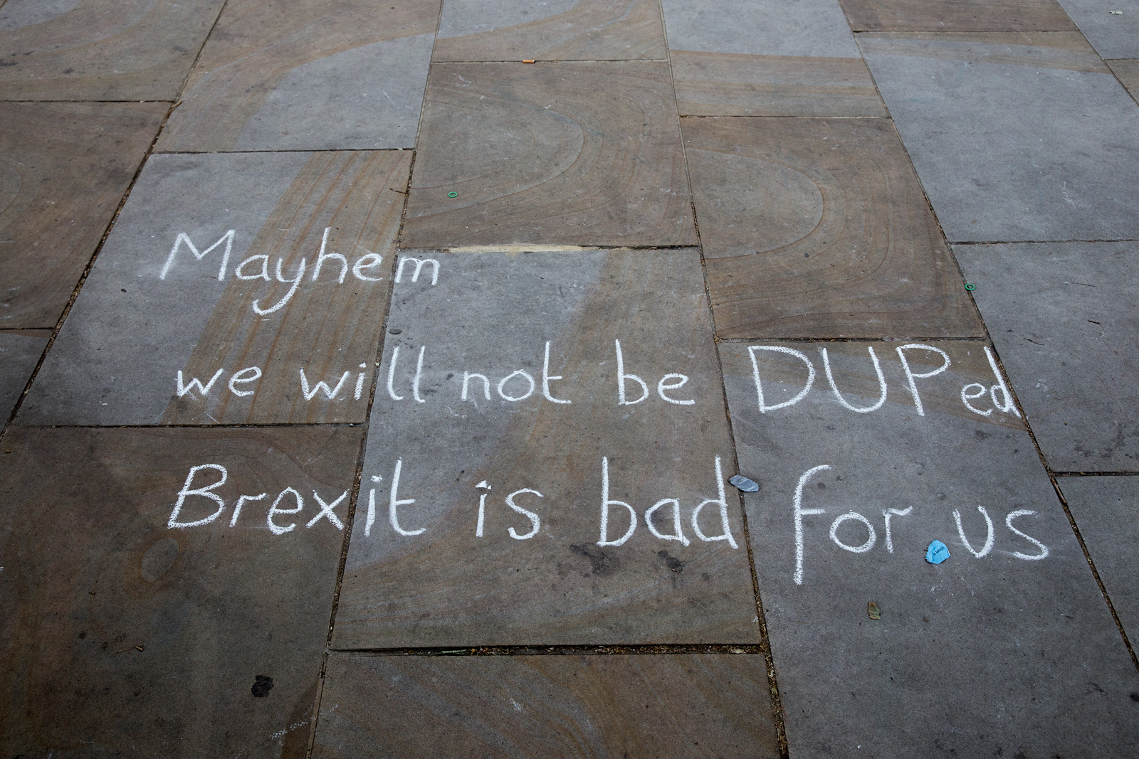 No Coalition of Chaos with the DUP Demo-Photo Bex Wade-30