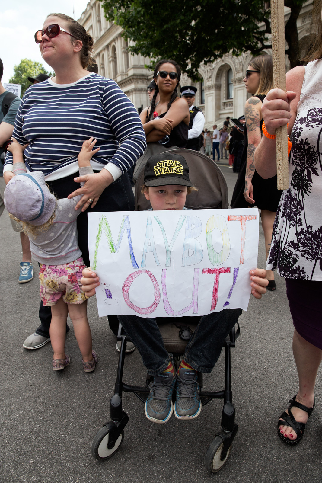 No Coalition of Chaos with the DUP Demo-Photo Bex Wade-7