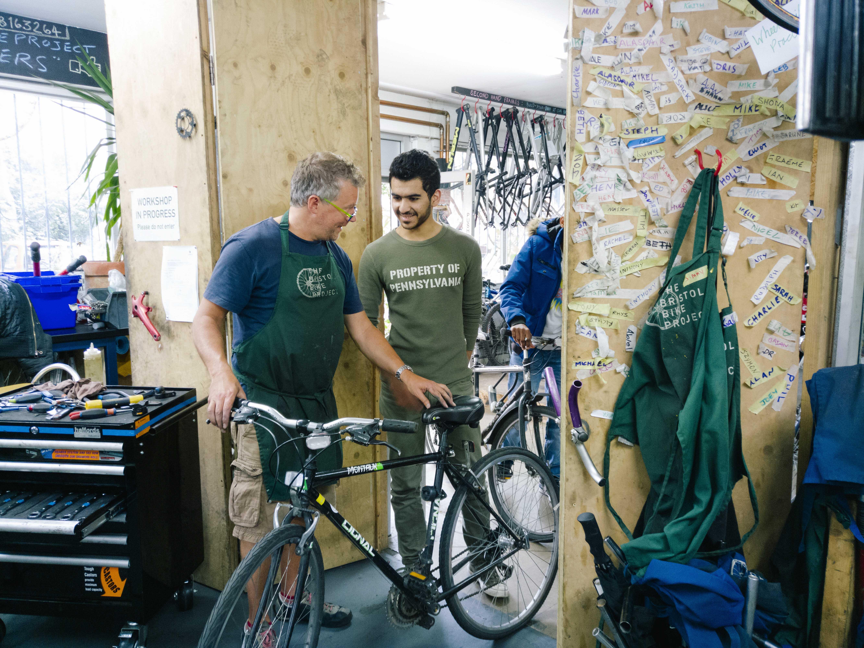 Bristol Bike Project: Huck Magazine Kodak