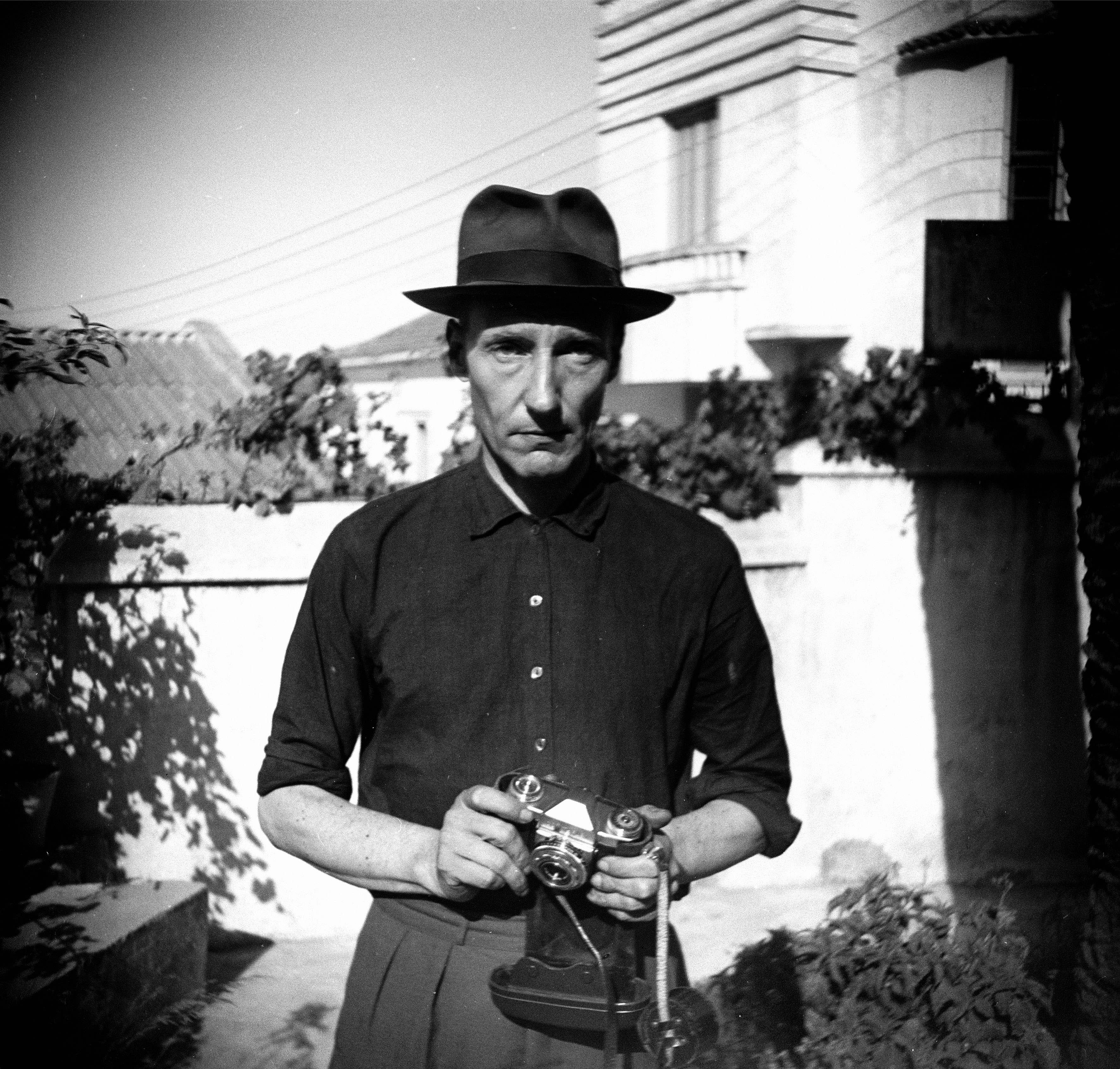 Burroughs in Tangier, photographer unknown.