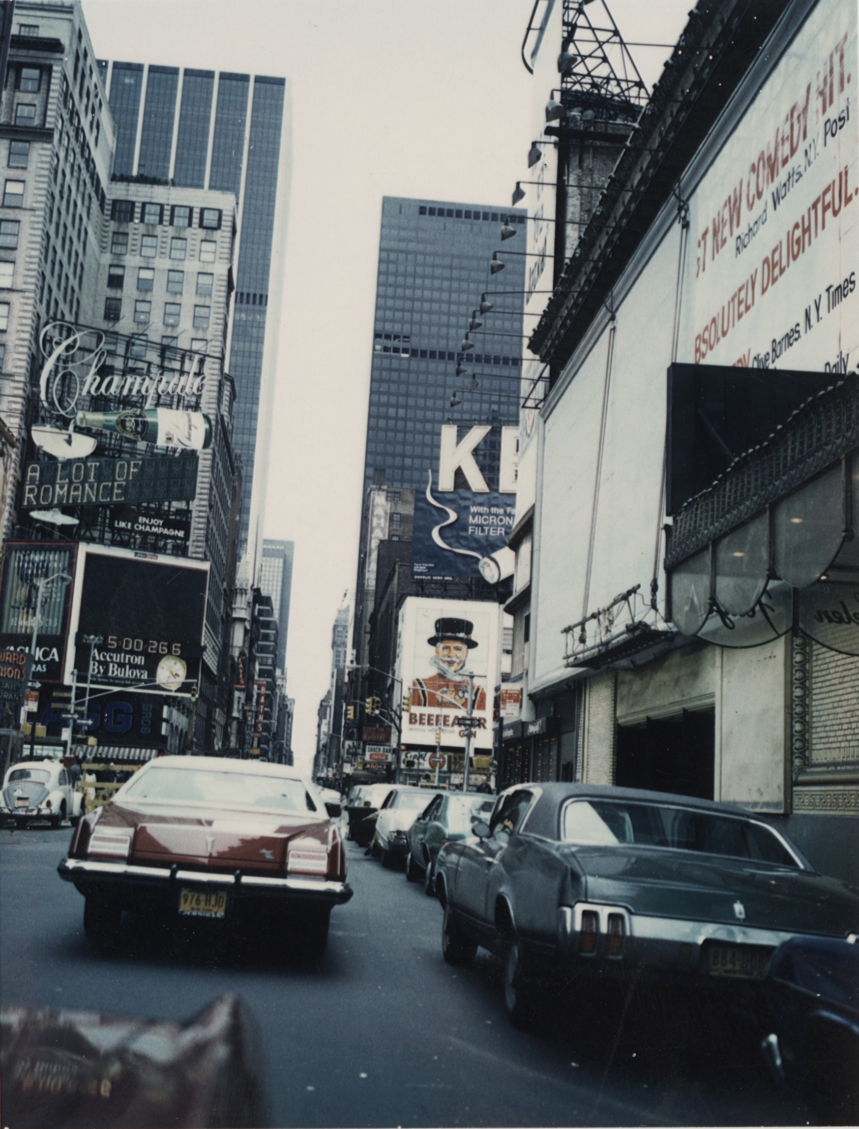 Midtown Manhattan, 1965.