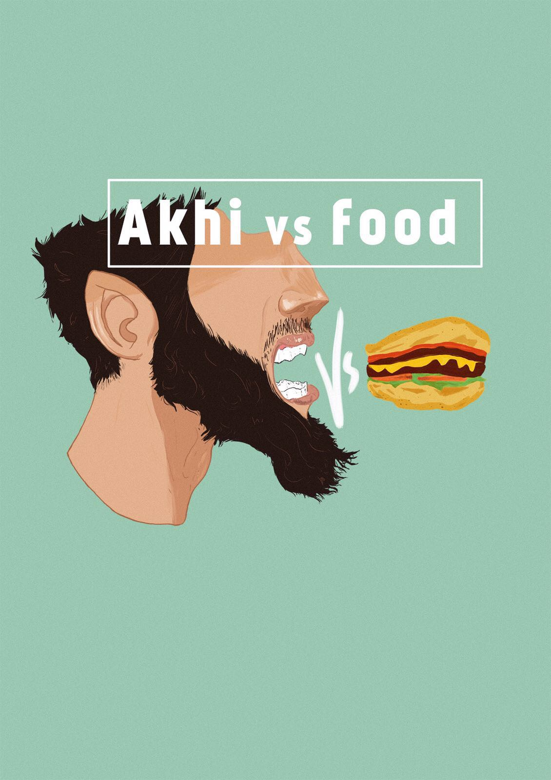 Akhi Vs Food Logo