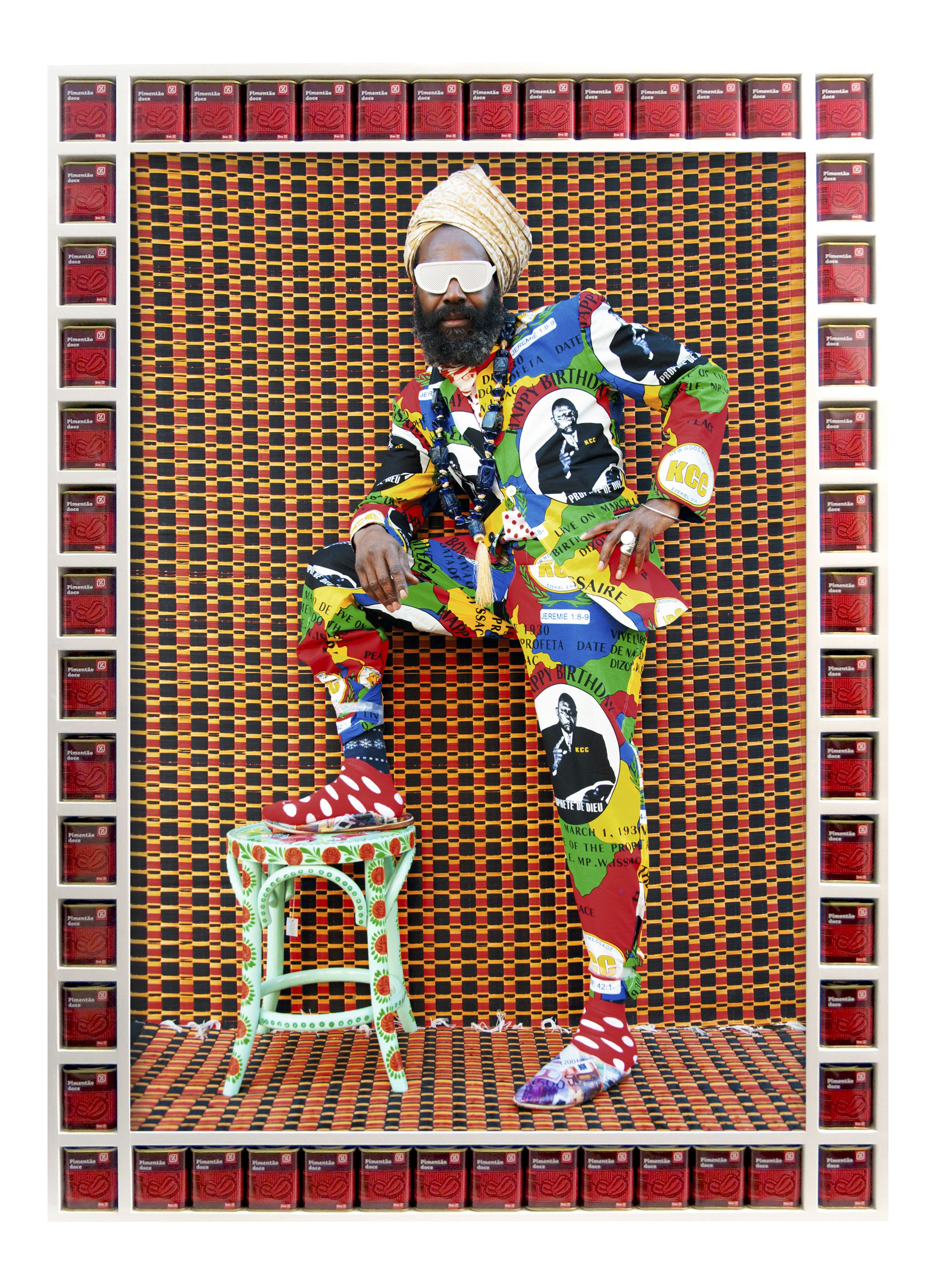 Hassan Hajjaj, Blaize, 2015; from Dandy Lion (Aperture, 2017)