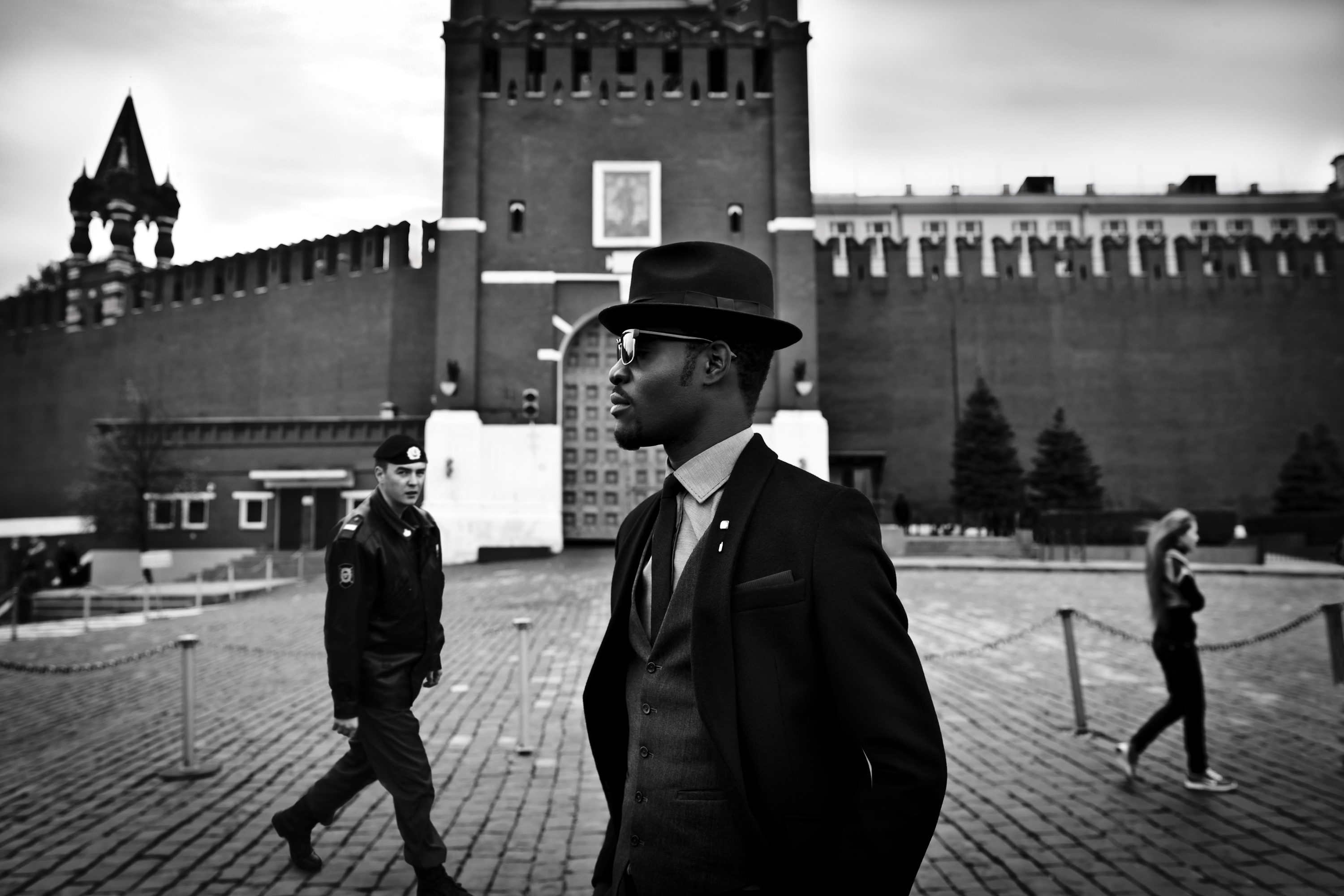 Photography Arteh Odjidja, Red Square Moscow, Russia, 2012, from the series Stranger in Moscow