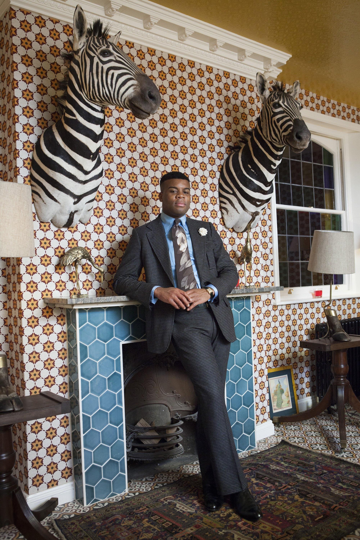 Photography Rose Callahan, Barima Owusu-Nyantekyi at the King's Head Club, London, March 2013