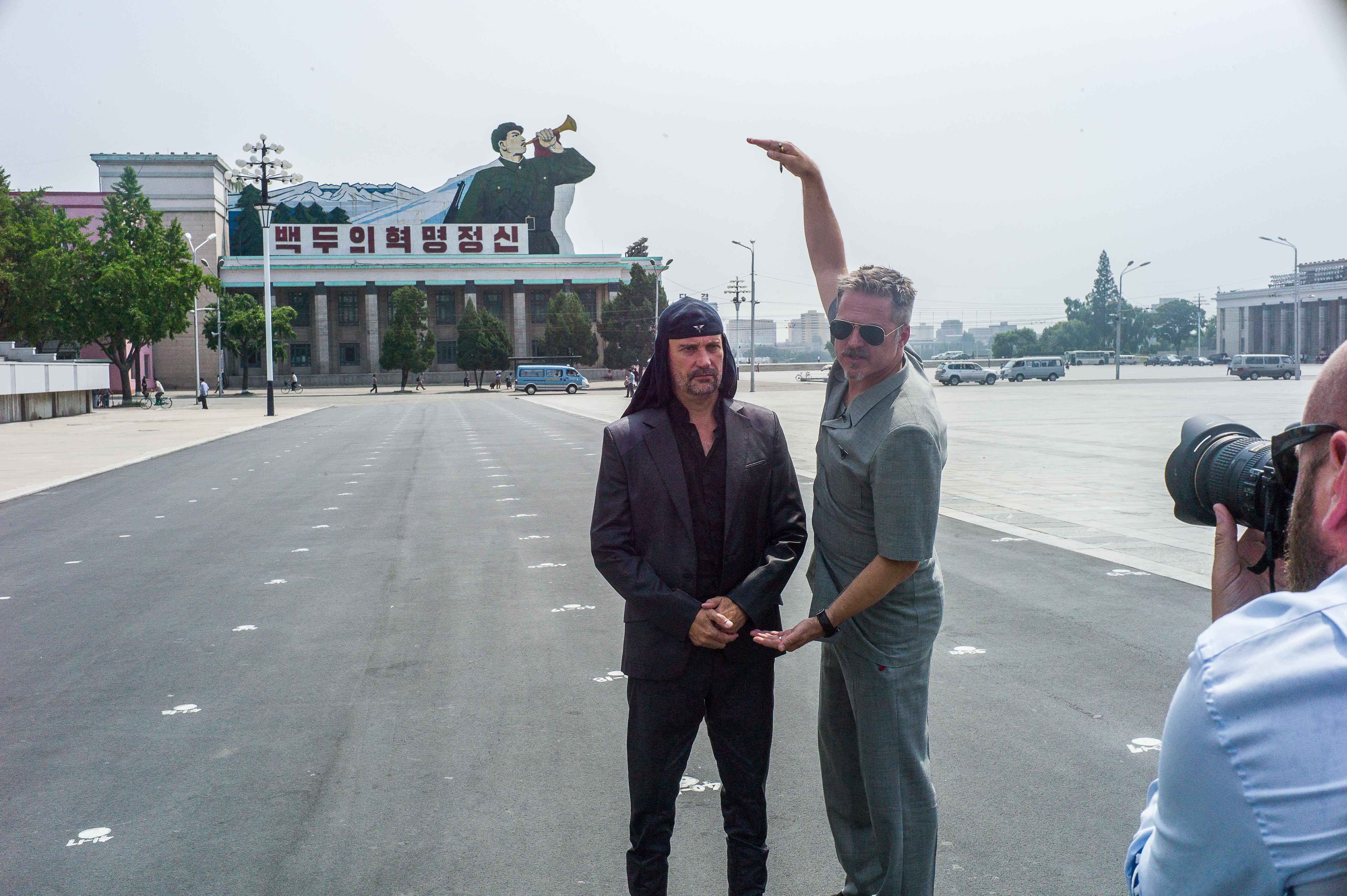 Milan Fras (Laibach) and Traavik Morten