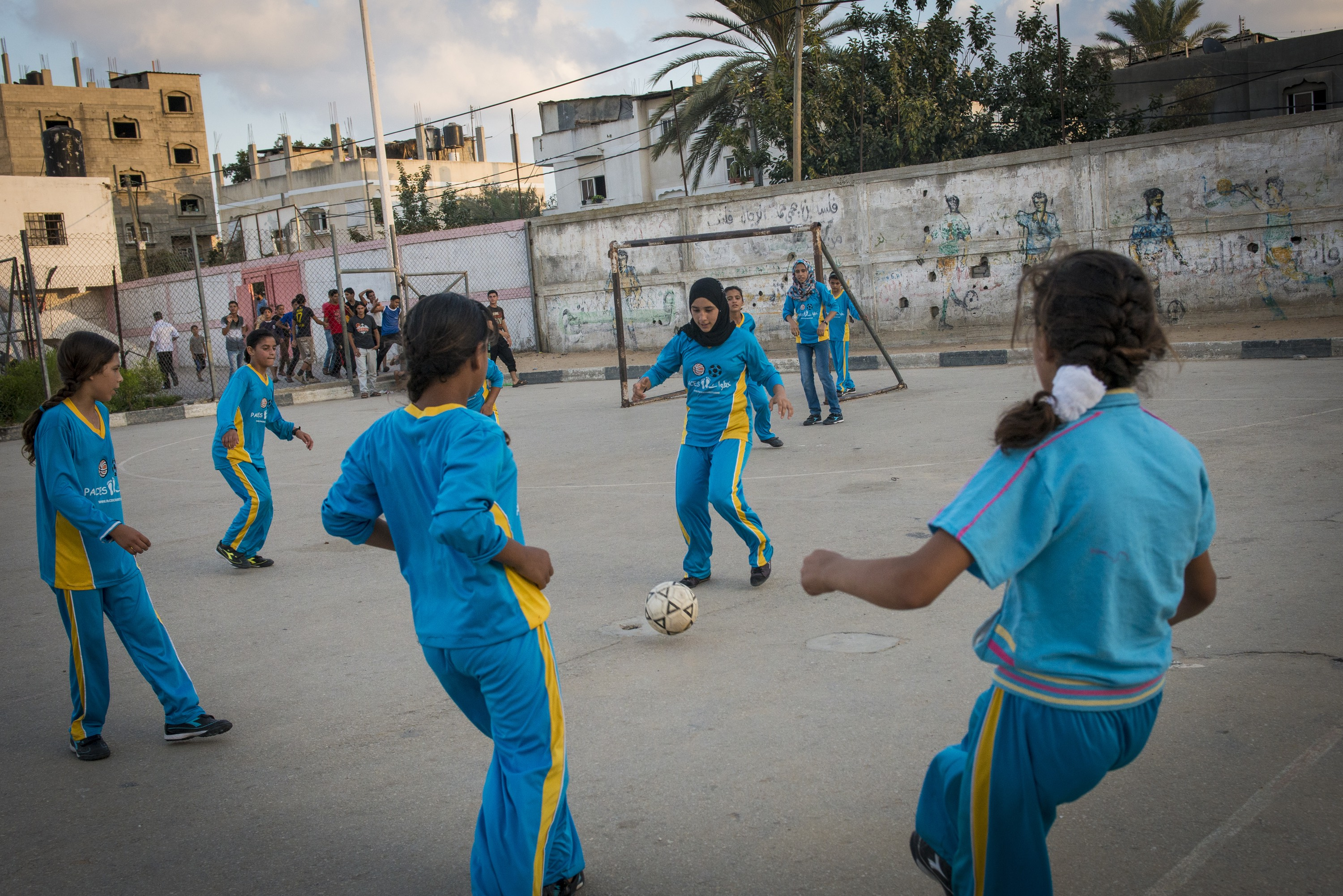 Growing up on the Gaza Strip