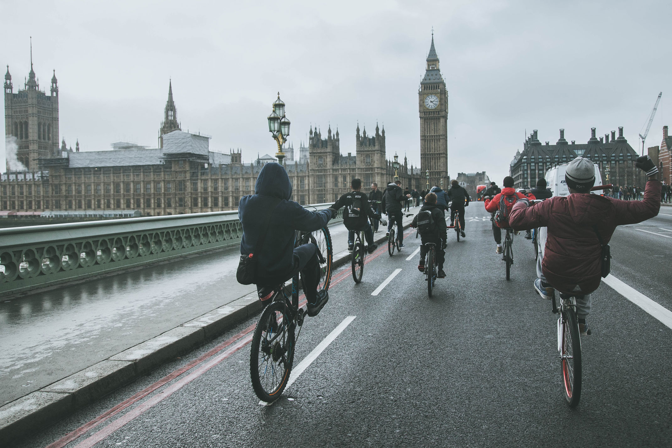 Inside the fearless bike movement tearing up London
