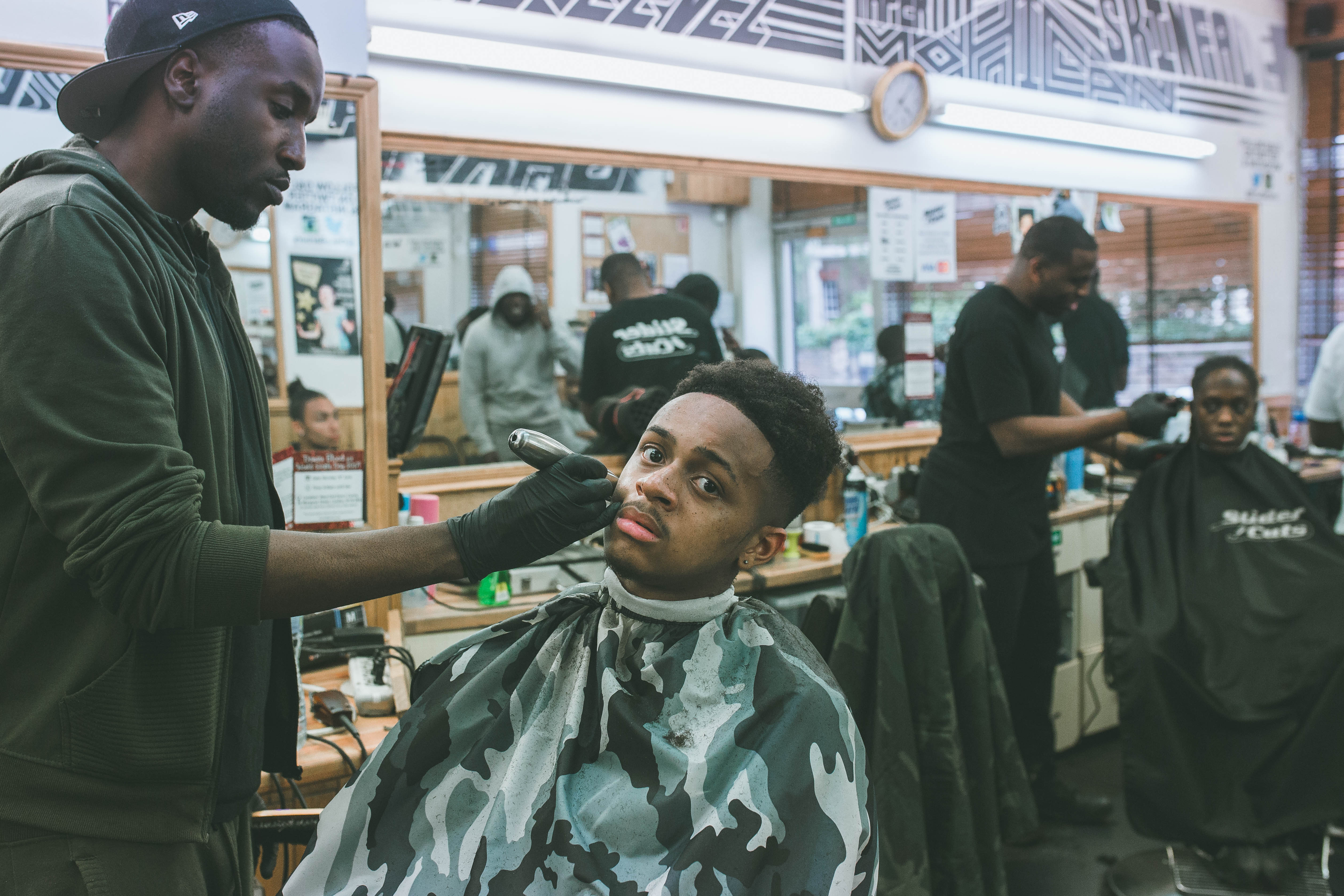 How The Barbershop Became A Bastion For The Black British Community