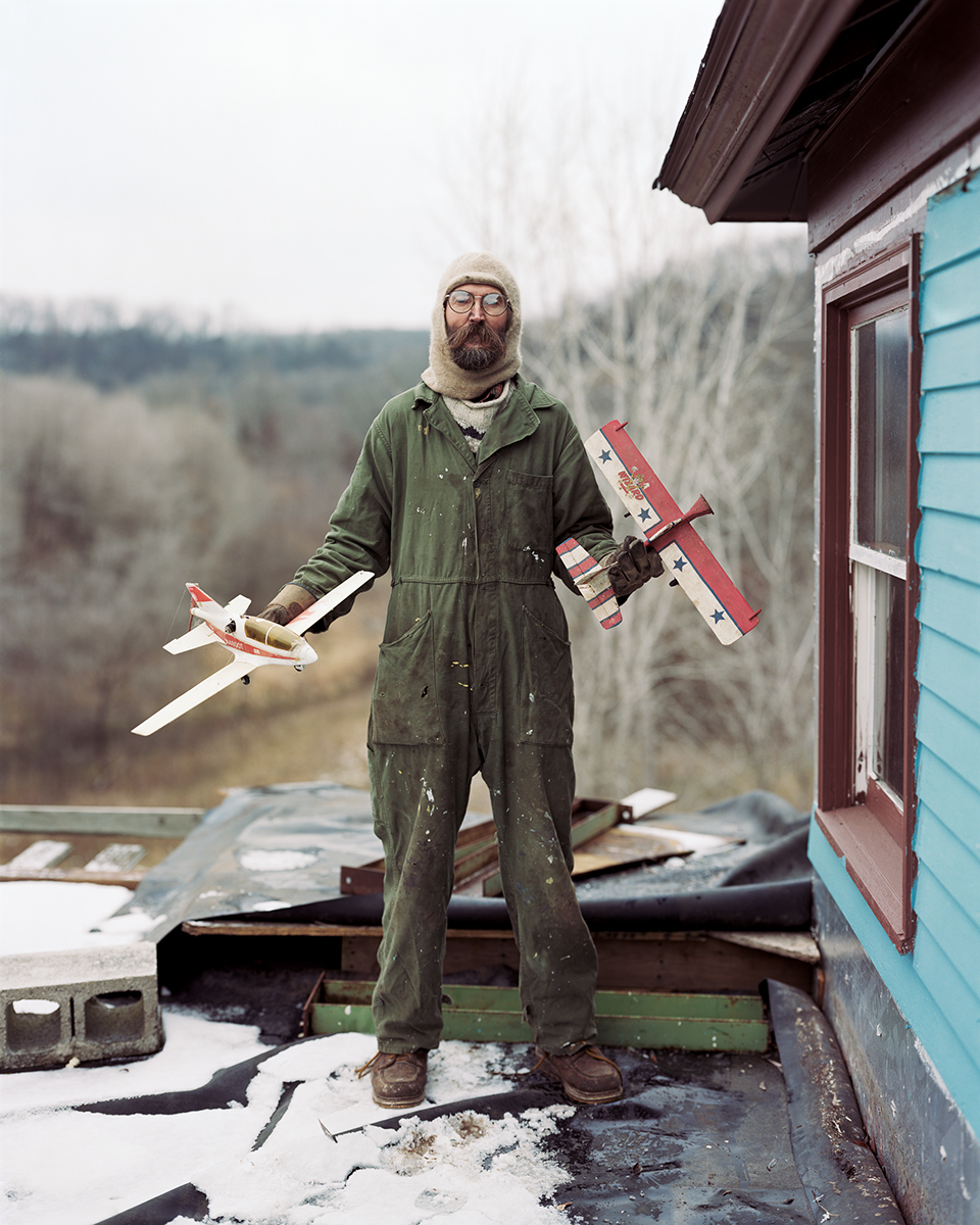 Alec Soth, 'Charles, Vasa, Minnesota' from Sleeping by the Mississippi (2017). Courtesy of the artist and MACK.