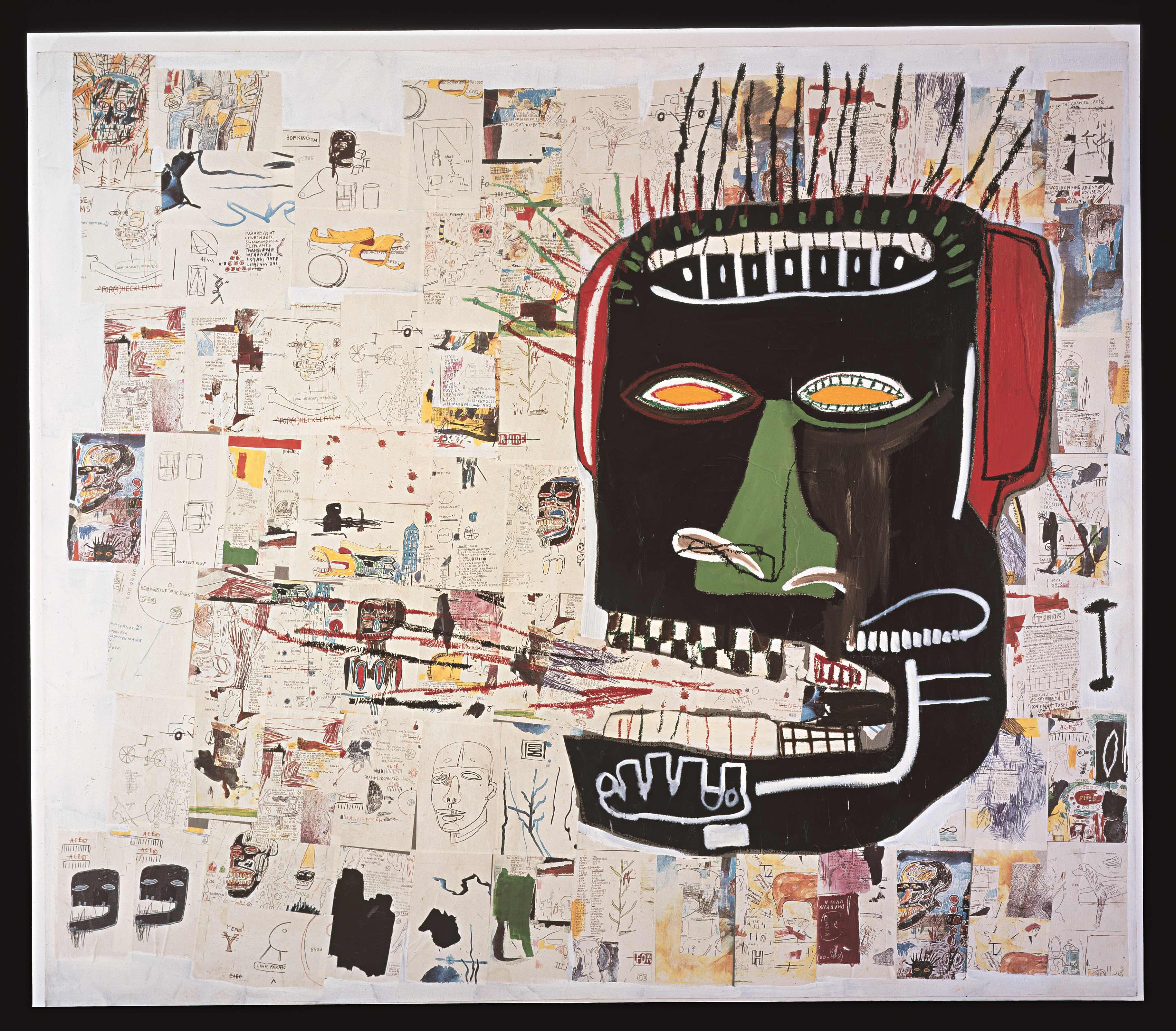 Jean-Michel Basquiat Glenn, 1984 Private collection. © The Estate of Jean-Michel Basquiat. Licensed by Artestar, New York.