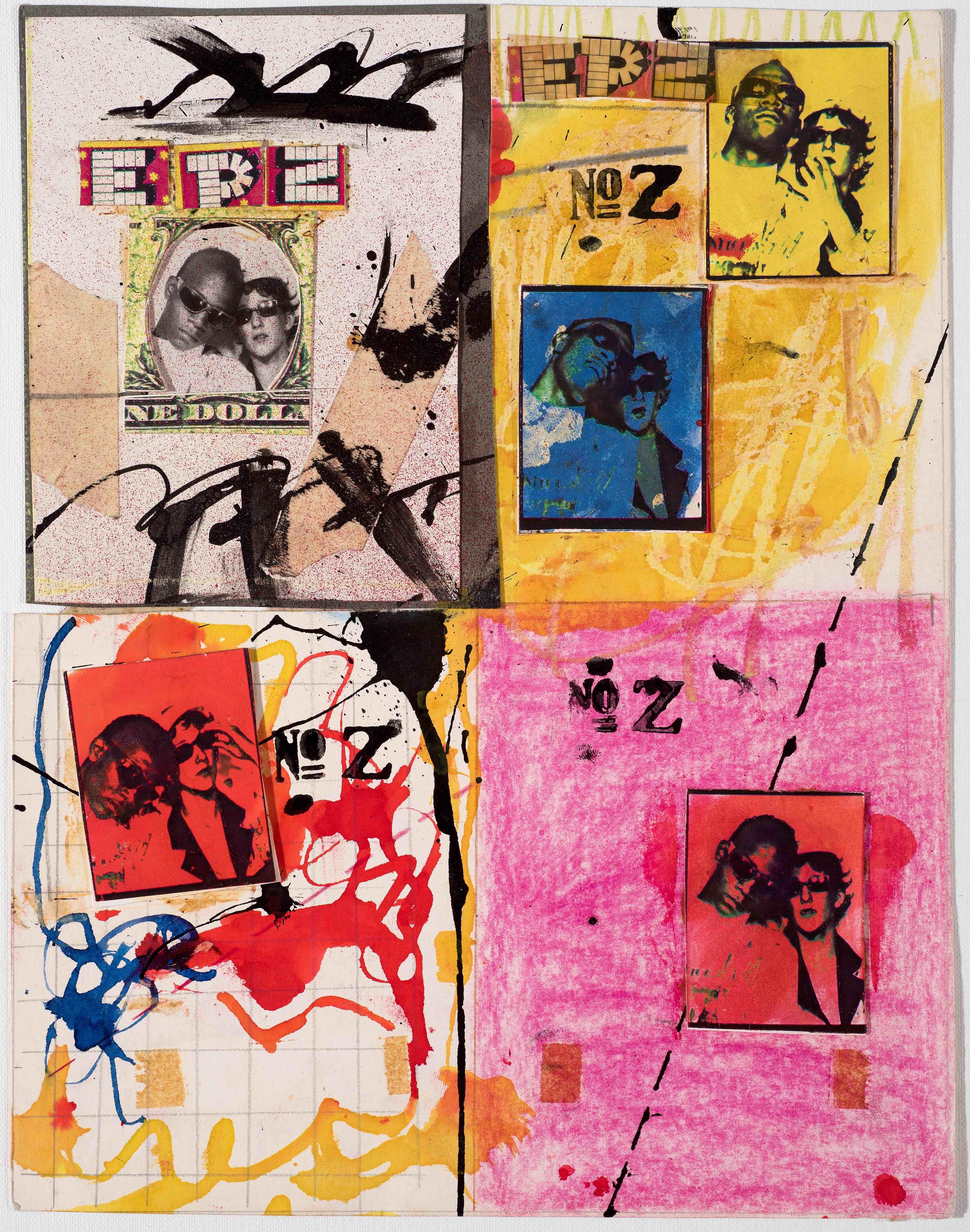 Jean-Michel Basquiat and Jennifer Stein Anti-Baseball Card Product, 1979 Courtesy Jennifer Von Holstein. © Jennifer Von Holstein and The Estate of Jean-Michel Basquiat. Licensed by Artestar, New York.