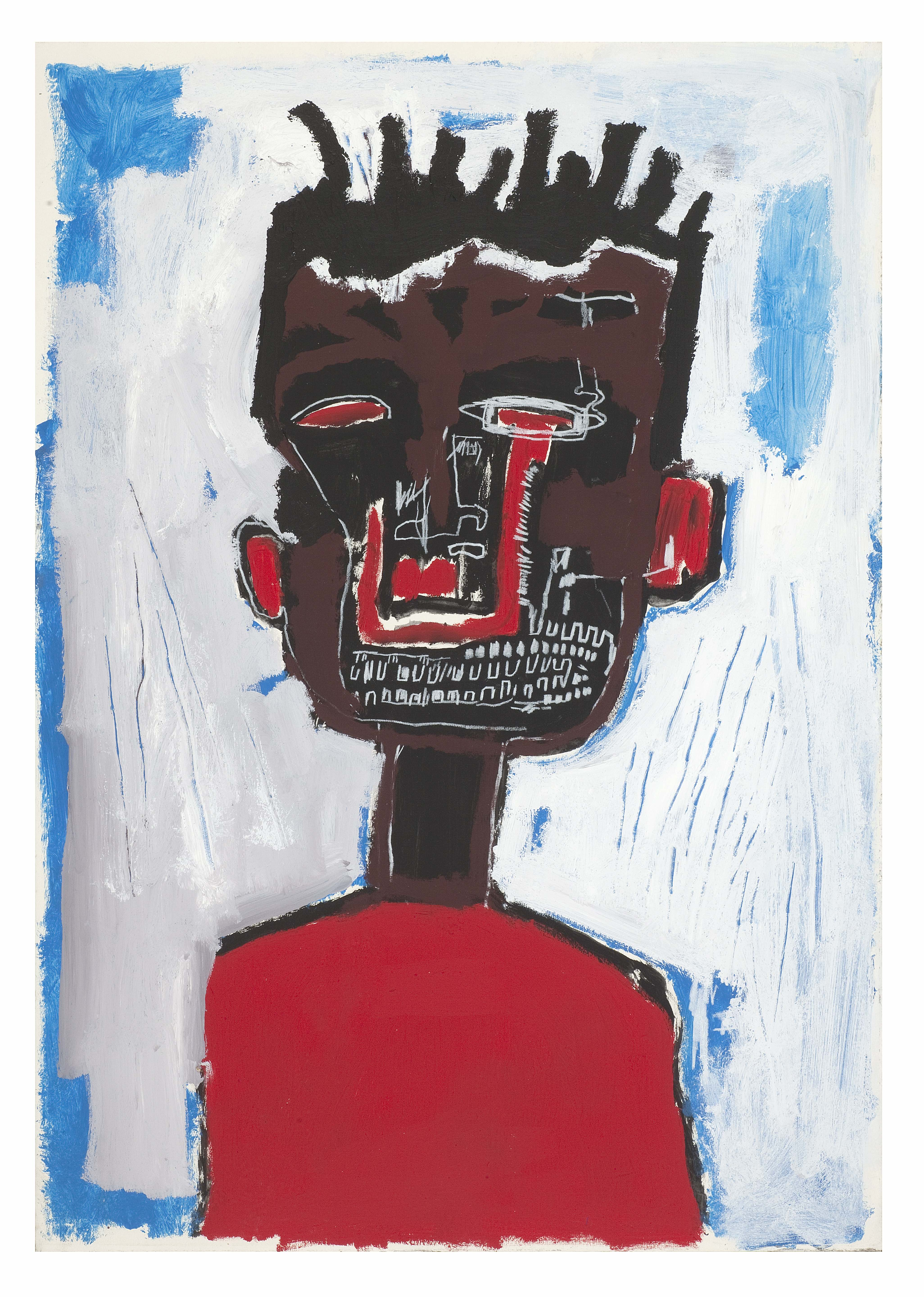 Jean-Michel Basquiat Self Portrait, 1984 Private collection. © The Estate of Jean-Michel Basquiat. Licensed by Artestar, New York.