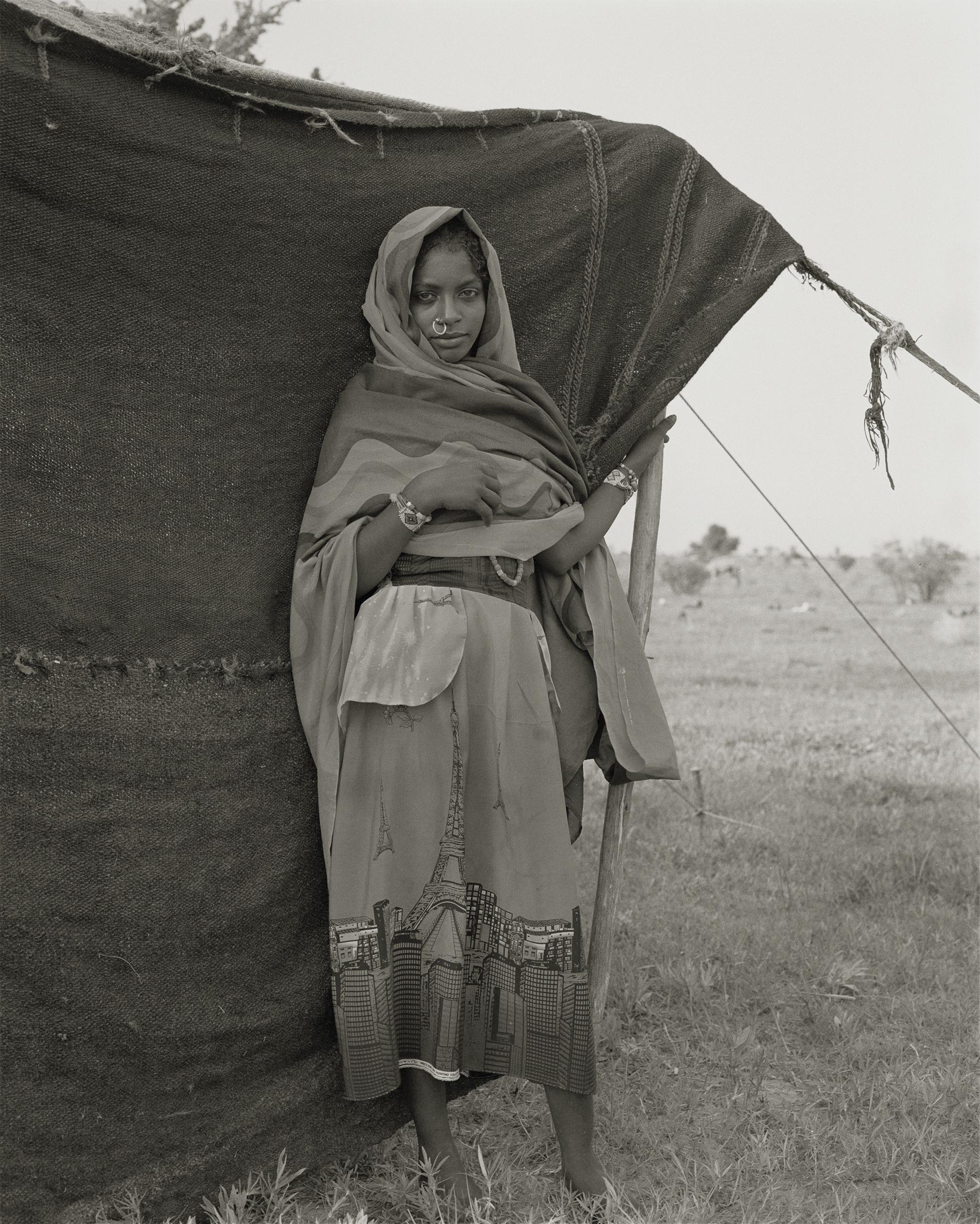 Claude Iverné, Mnaïma Adjak, Shénabla People, Awasma Clan, Dar Jawama, North Kordofan, Aug. 2001