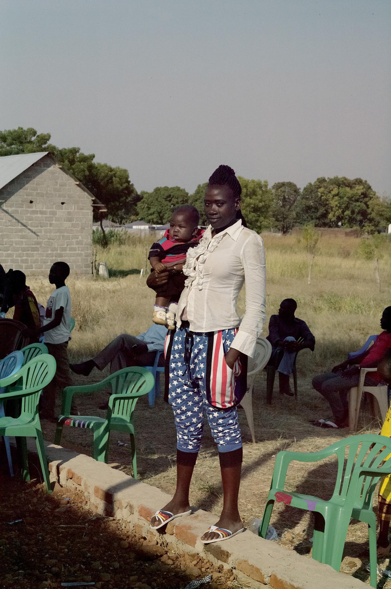 Claude Iverné, Apprentice Graduation Ceremony, Saint-Vincentde-Paul Training Centre, Sister Emmanuelle, Lologo District, Juba, Dec. 2015