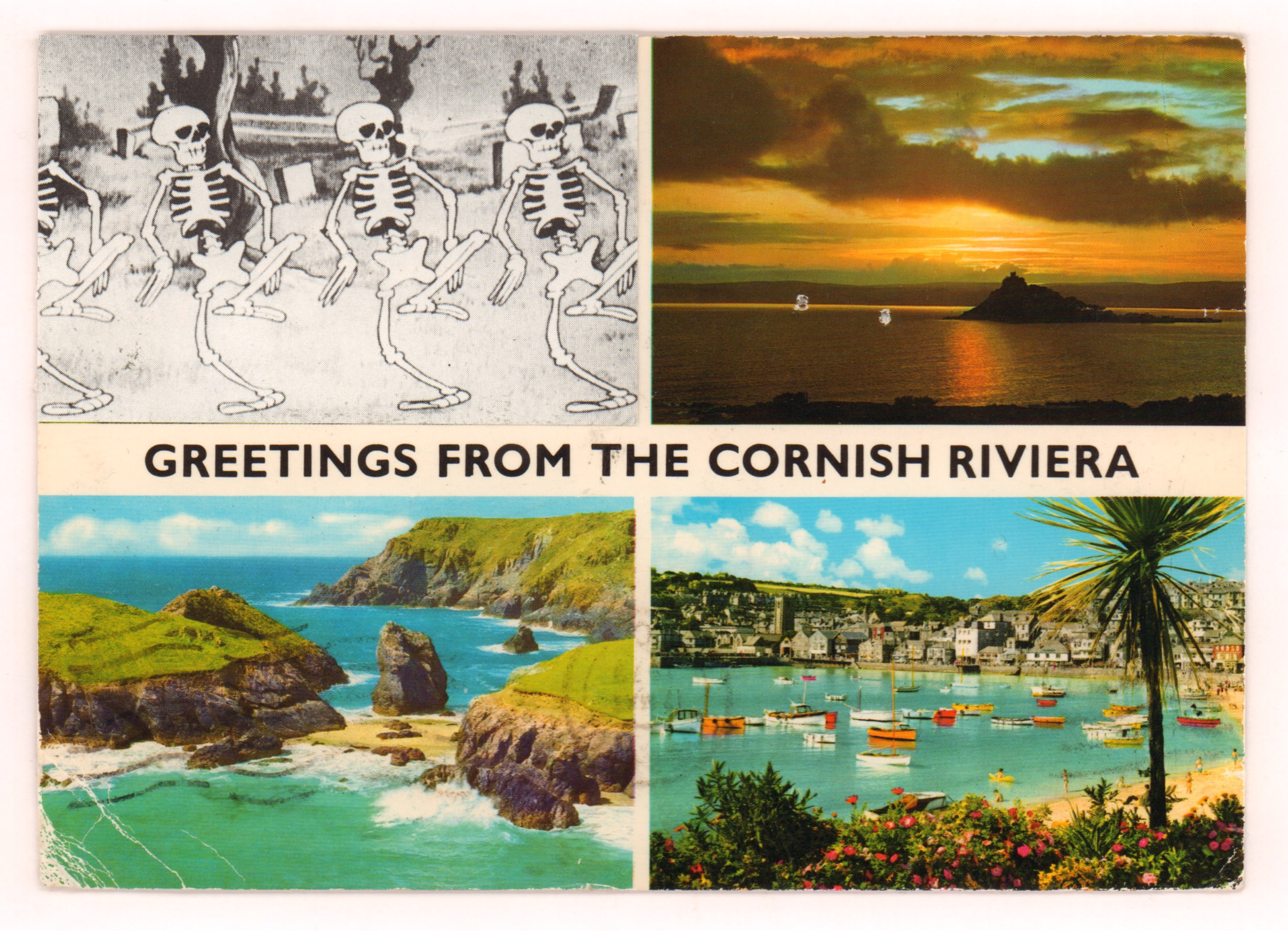 Greetings From the Cornish Riviera