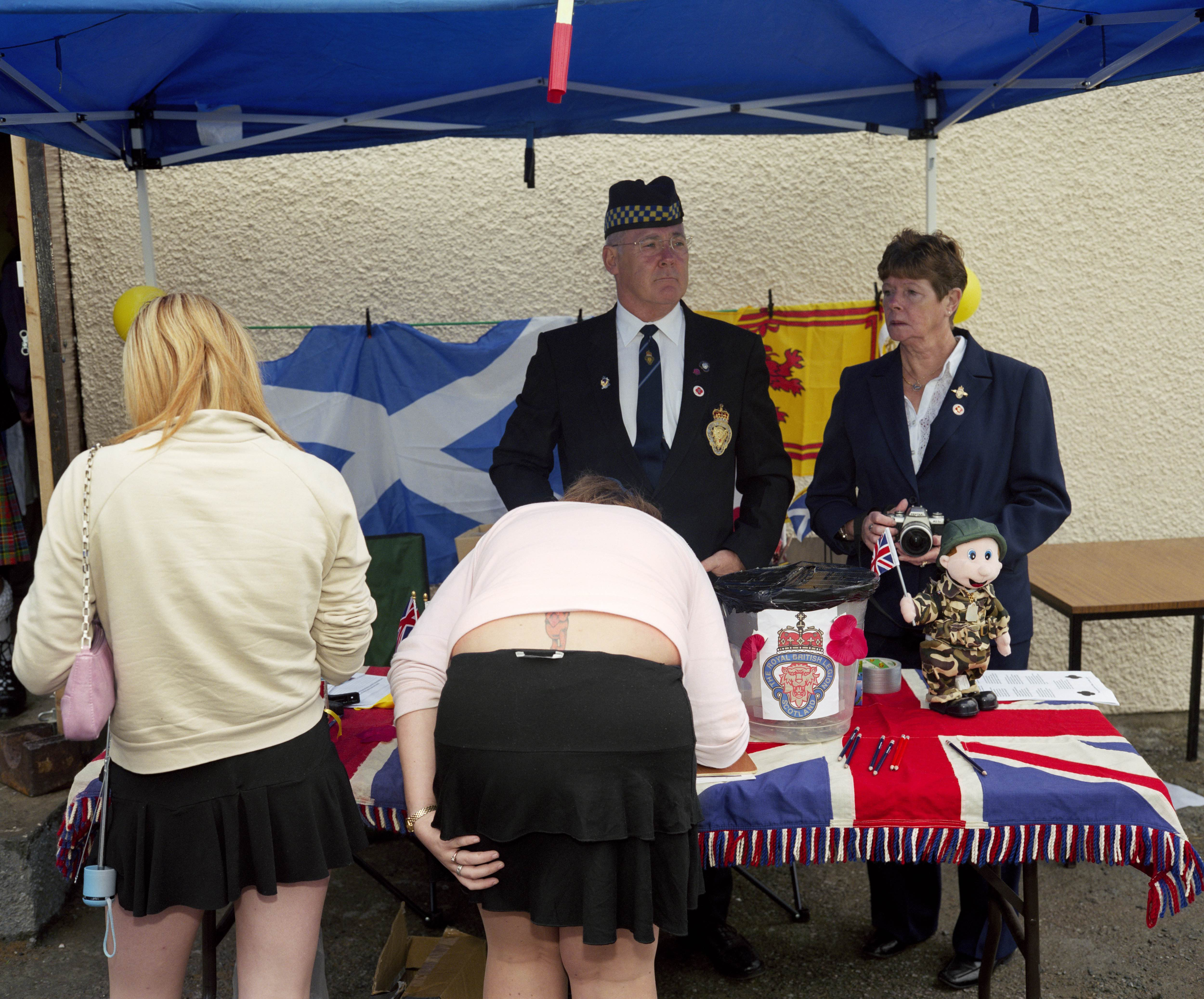 GB. Scotland. Dunoon. Cowal Games. From A8. 2004. © Martin Parr/Magnum Photos