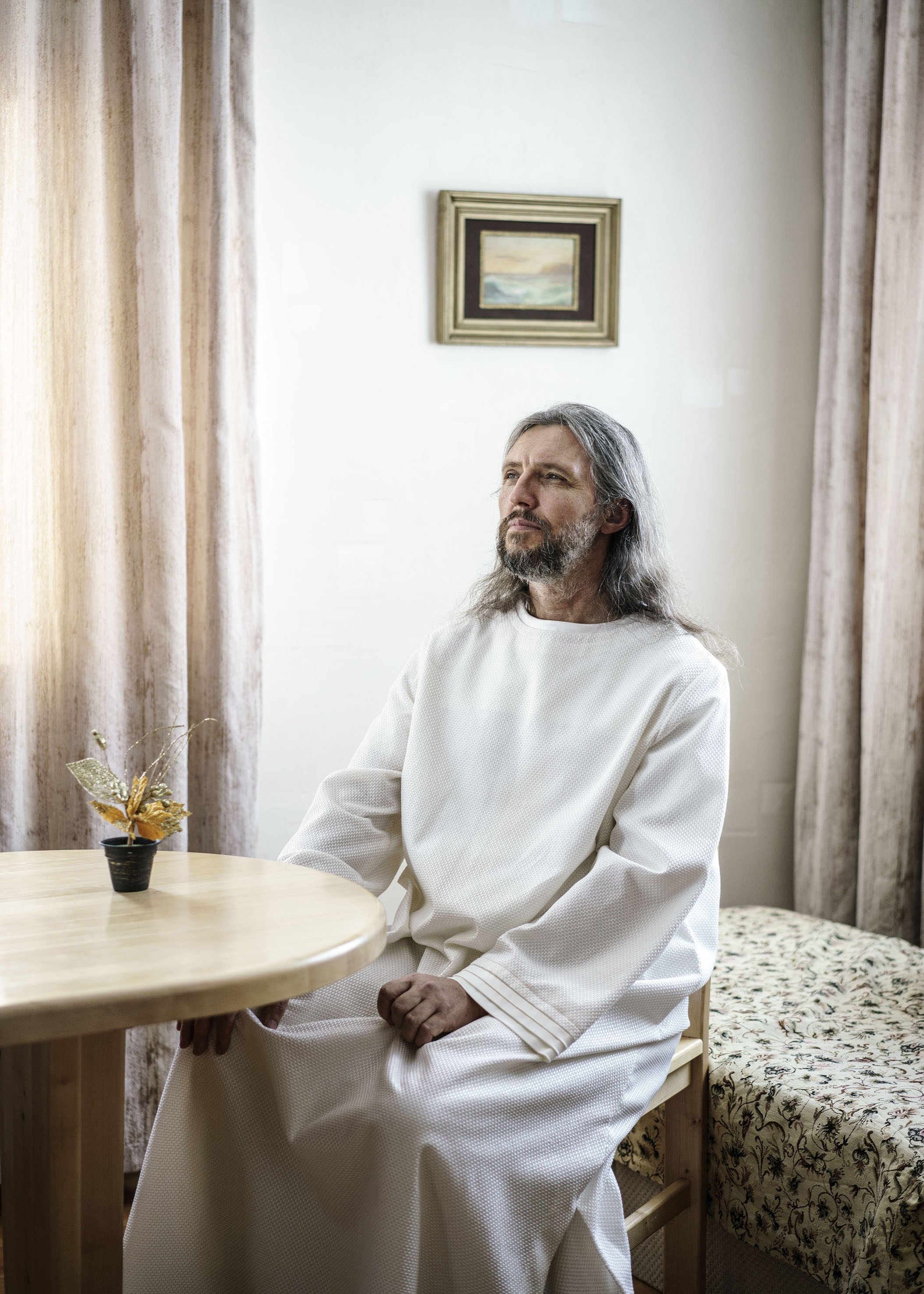 Russia. 2016. Krasnoyarski Krai. Vissarion, the Christ of Siberia.