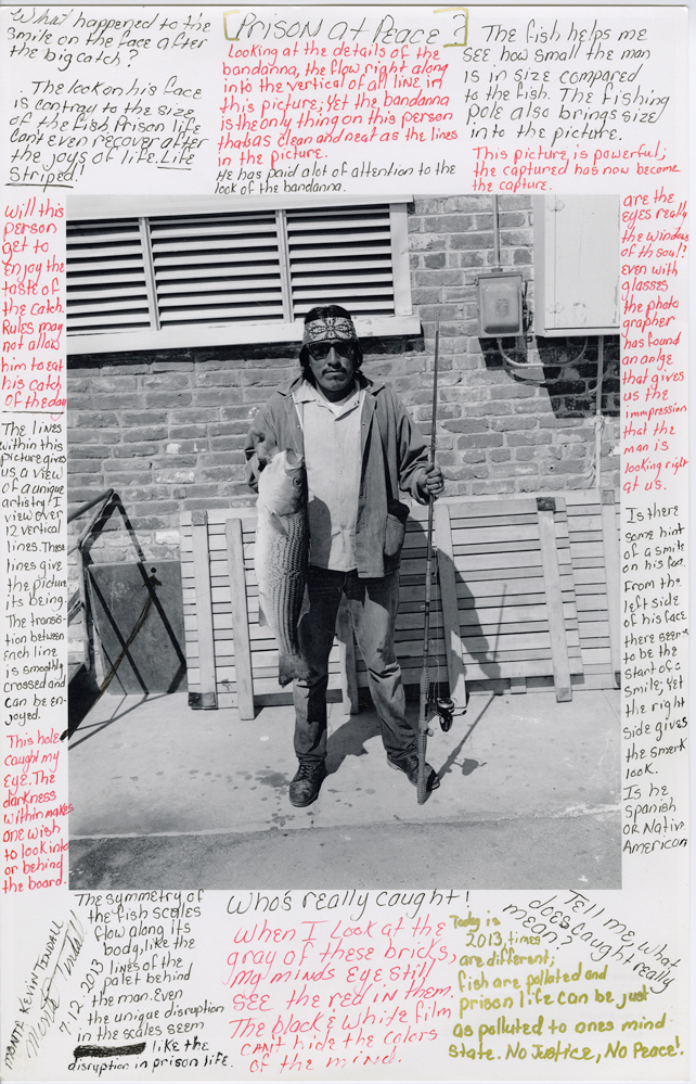 Fish Caught at Ranch 9.17.75 by Kevin Tindall, 2013. Courtesy of Nigel Poor.